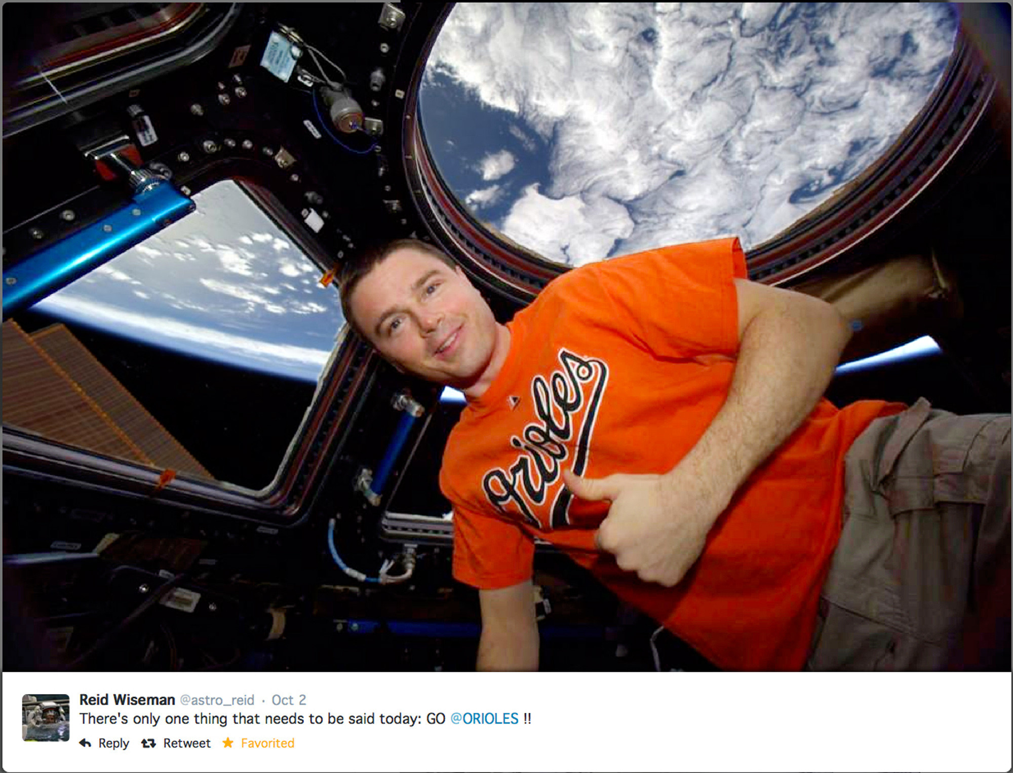 Cockeysville native Reid Wiseman returning from space ...
