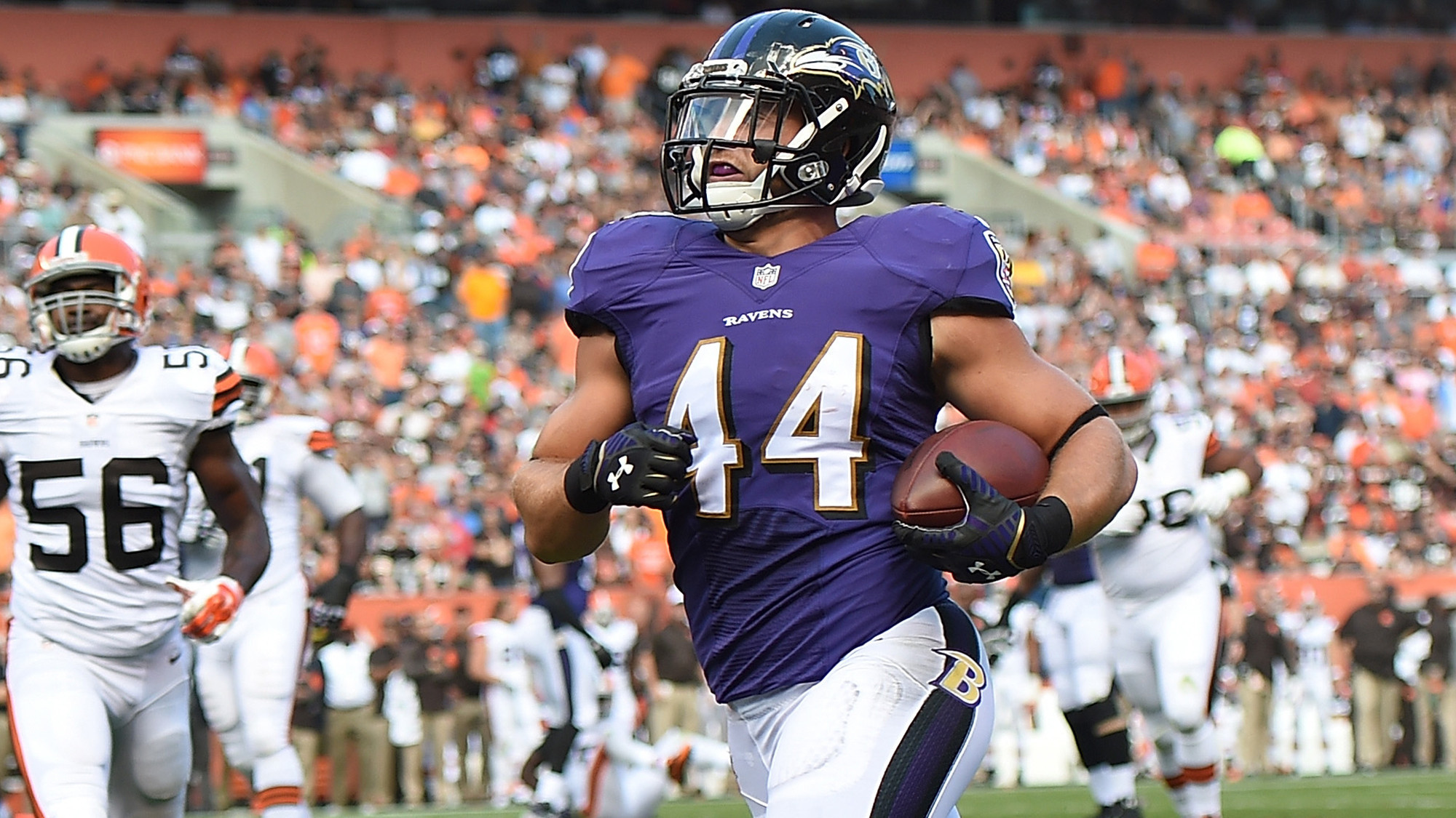 Ravens  Kyle Juszczyk getting high marks for blocking in first year as  starter - Baltimore Sun 6dd9f12be