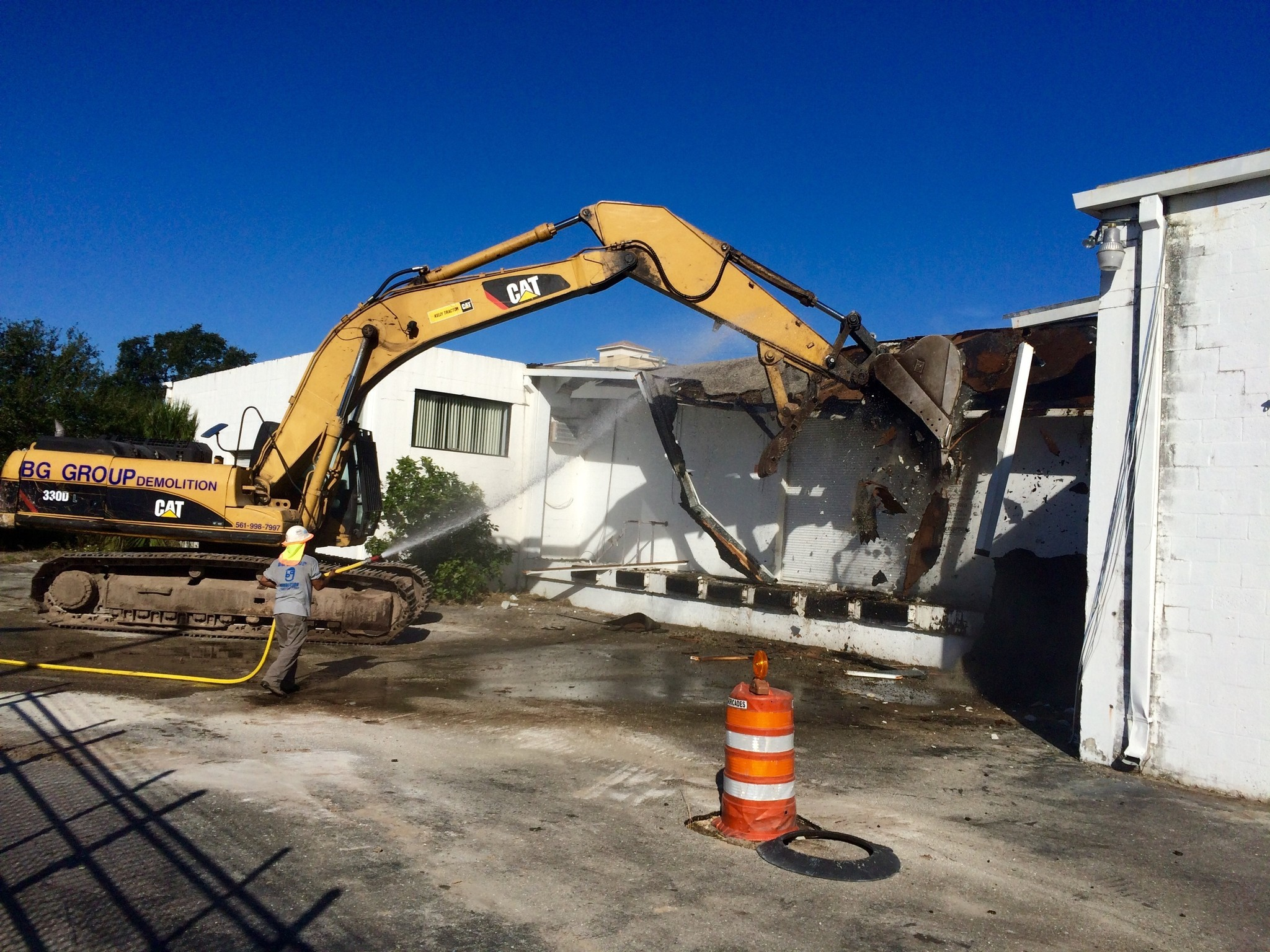 All Aboard Florida Demolition Begins For West Palm Beach