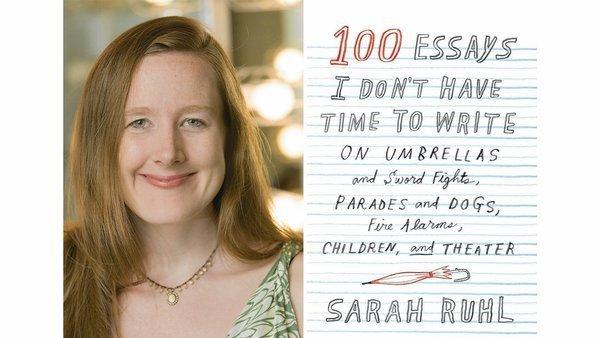 sarah ruhl 100 essays