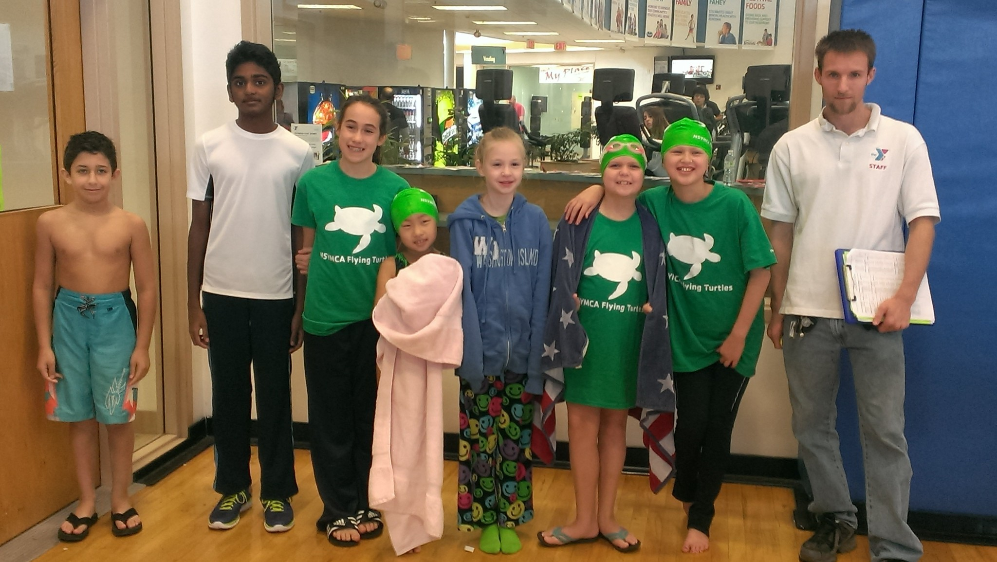 Ymca Swim Team Starts Strong In First Competitive Meet