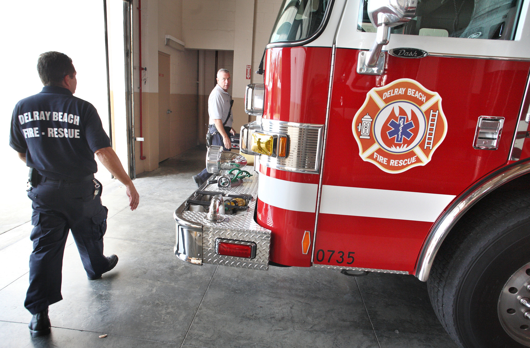 Delray S Fire Rescue To Receive Help From County Sun