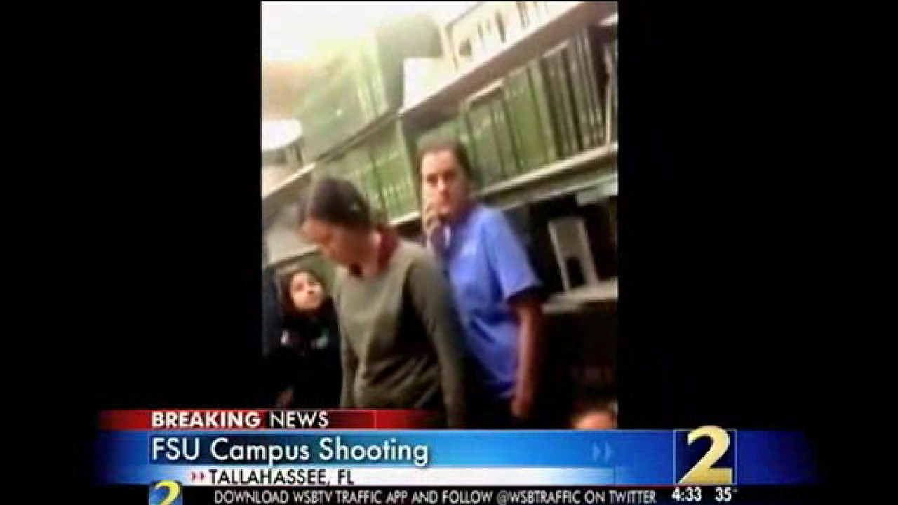 Raw video: FSU students in library during shooting - Daily Press