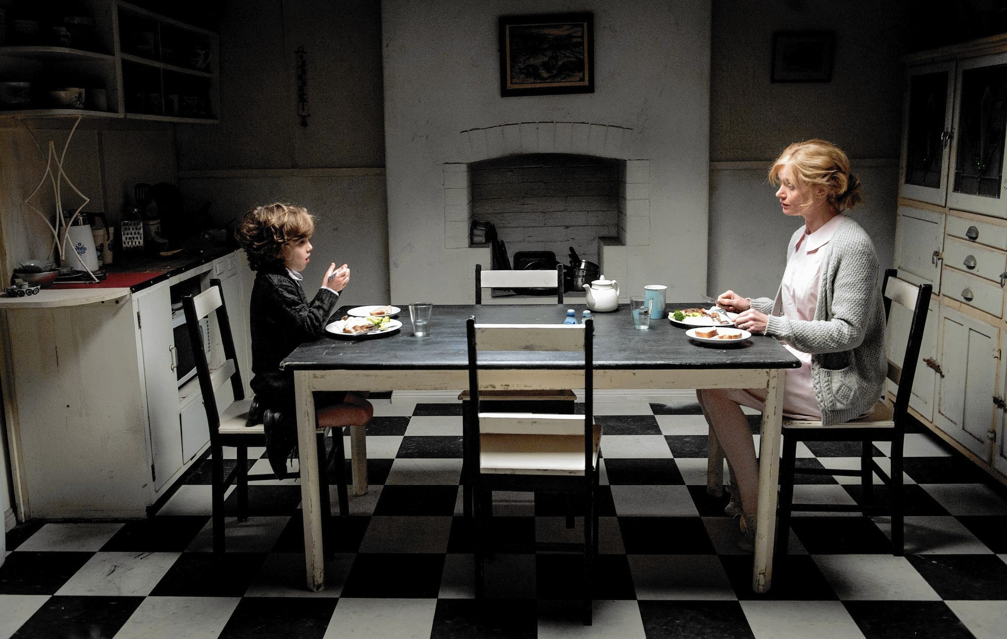 Lighting Basement Washroom Stairs: 'The Babadook' Is An Emotional Ride, 'What If' Is