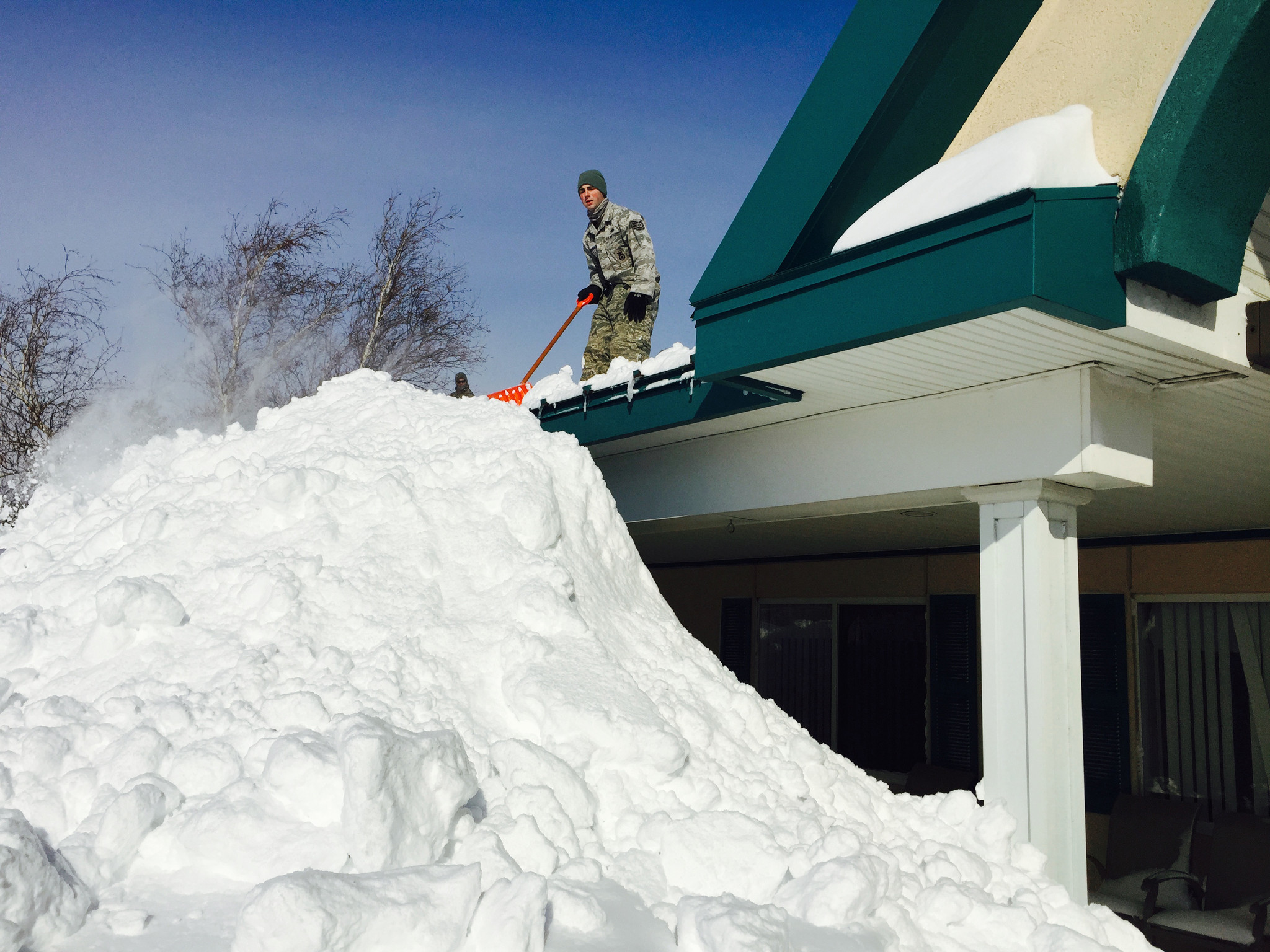 Massive Snowfall Leads To Major Flood Threat In Western
