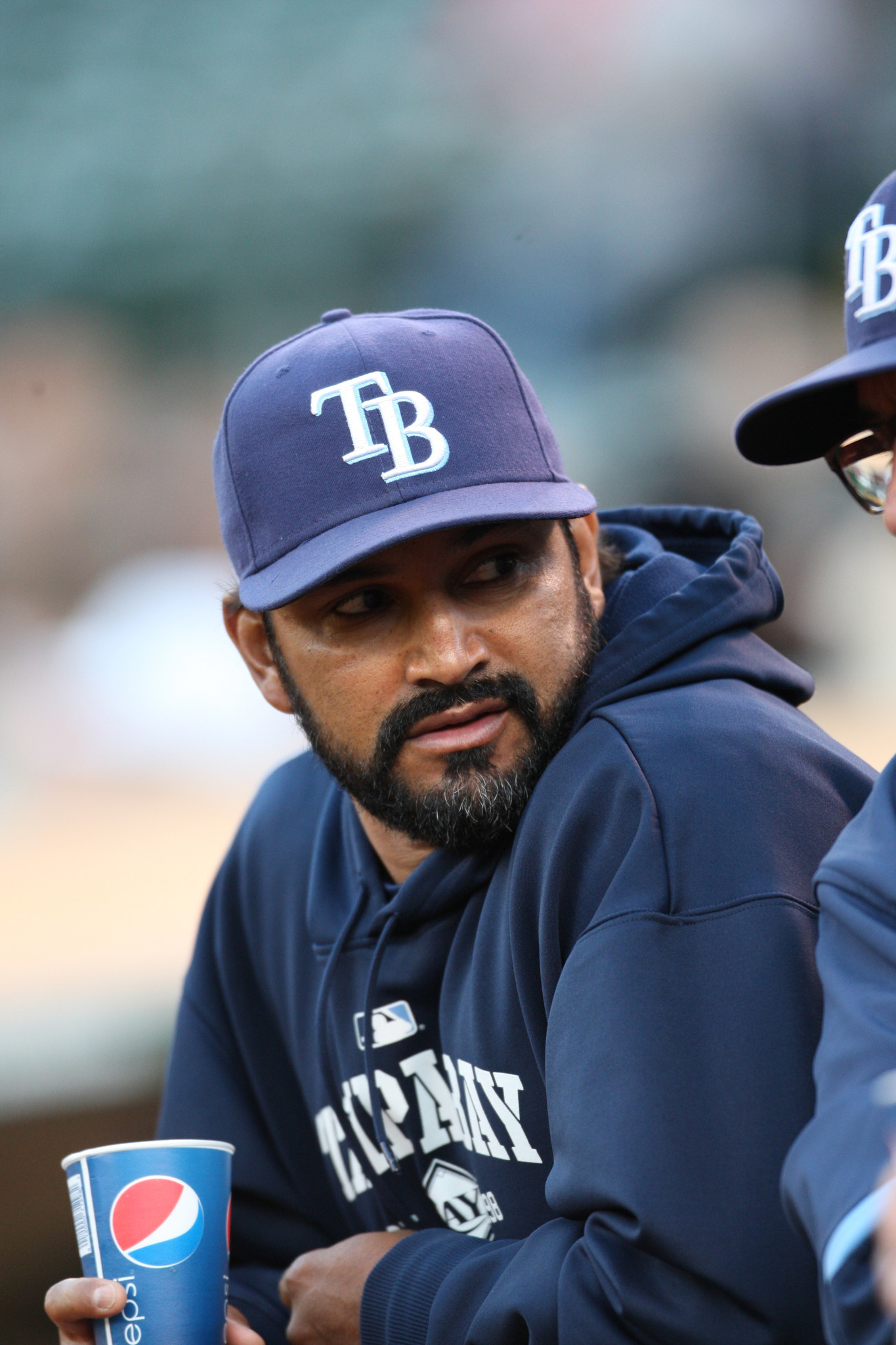 Dave Martinez Resigns As Rays Bench Coach Chicago Tribune