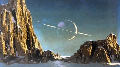 """""""Worlds of Chesley Bonestell"""": Exhibit of space paintings ..."""