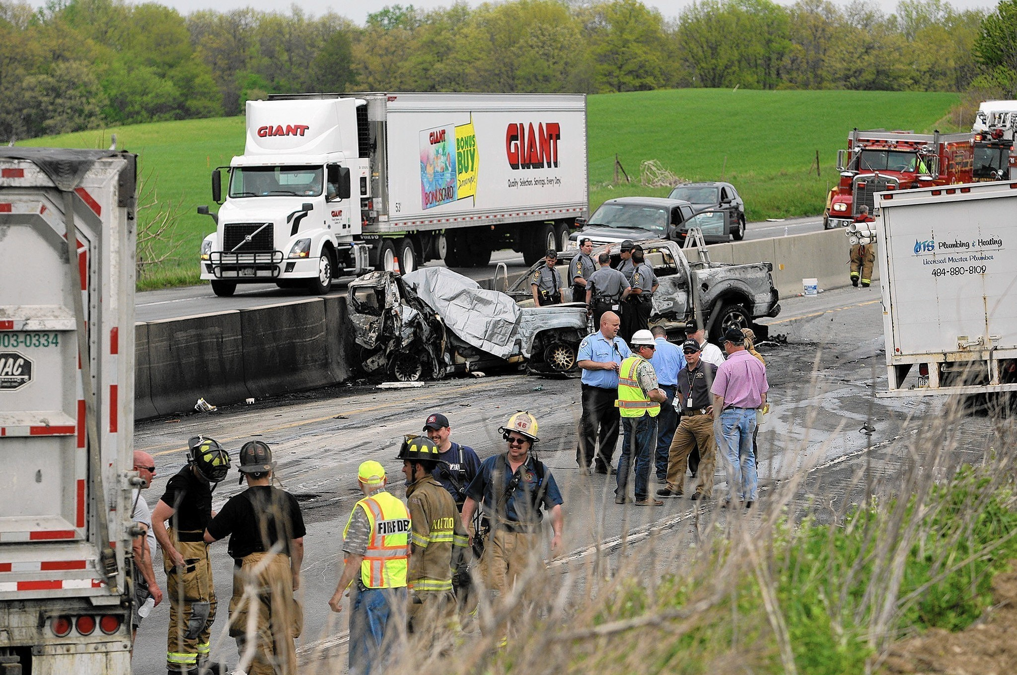 police: nj trucker was tired, driving too fast when he caused deadly