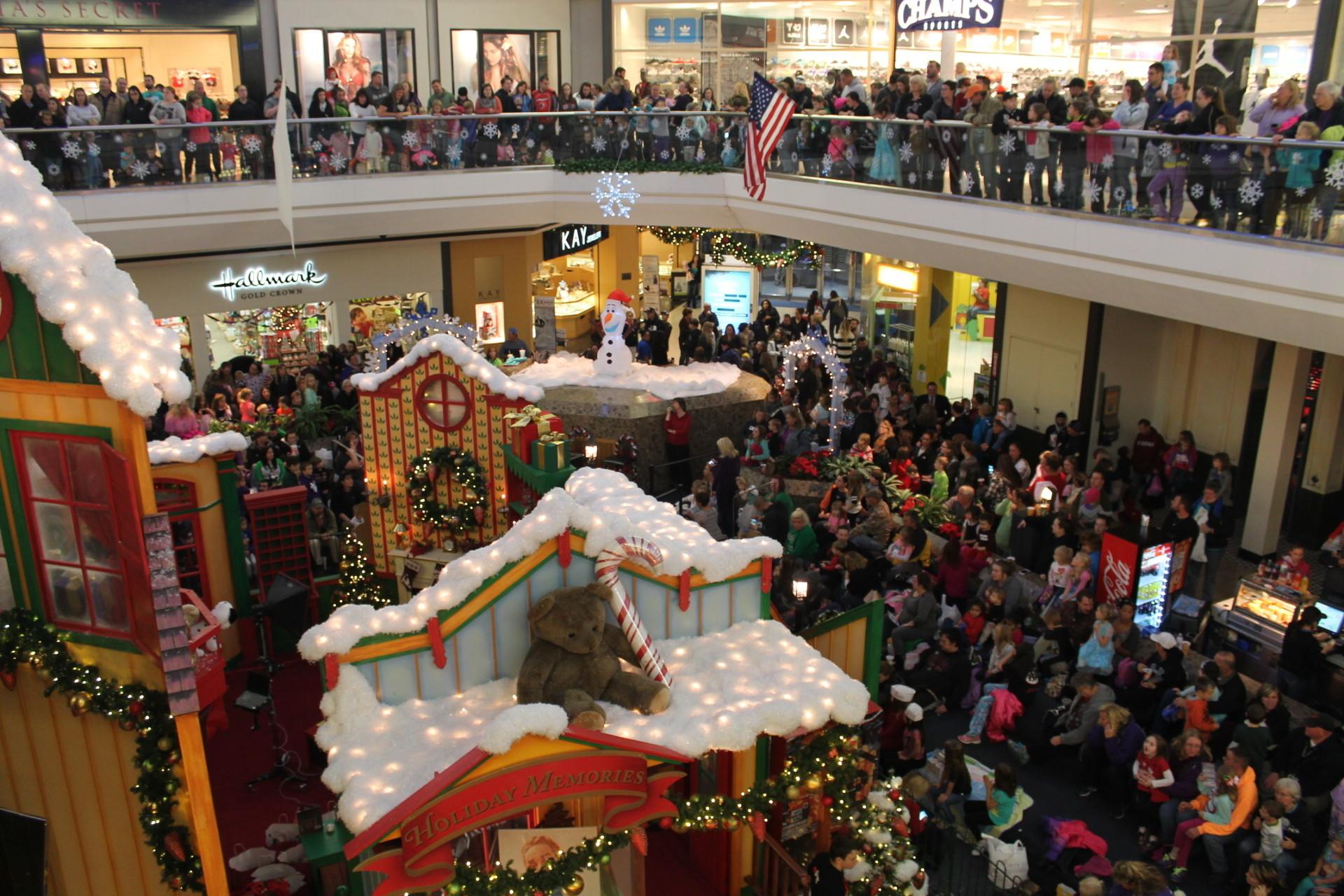 Marley Station Mall's Frozen Wonderland - Capital Gazette