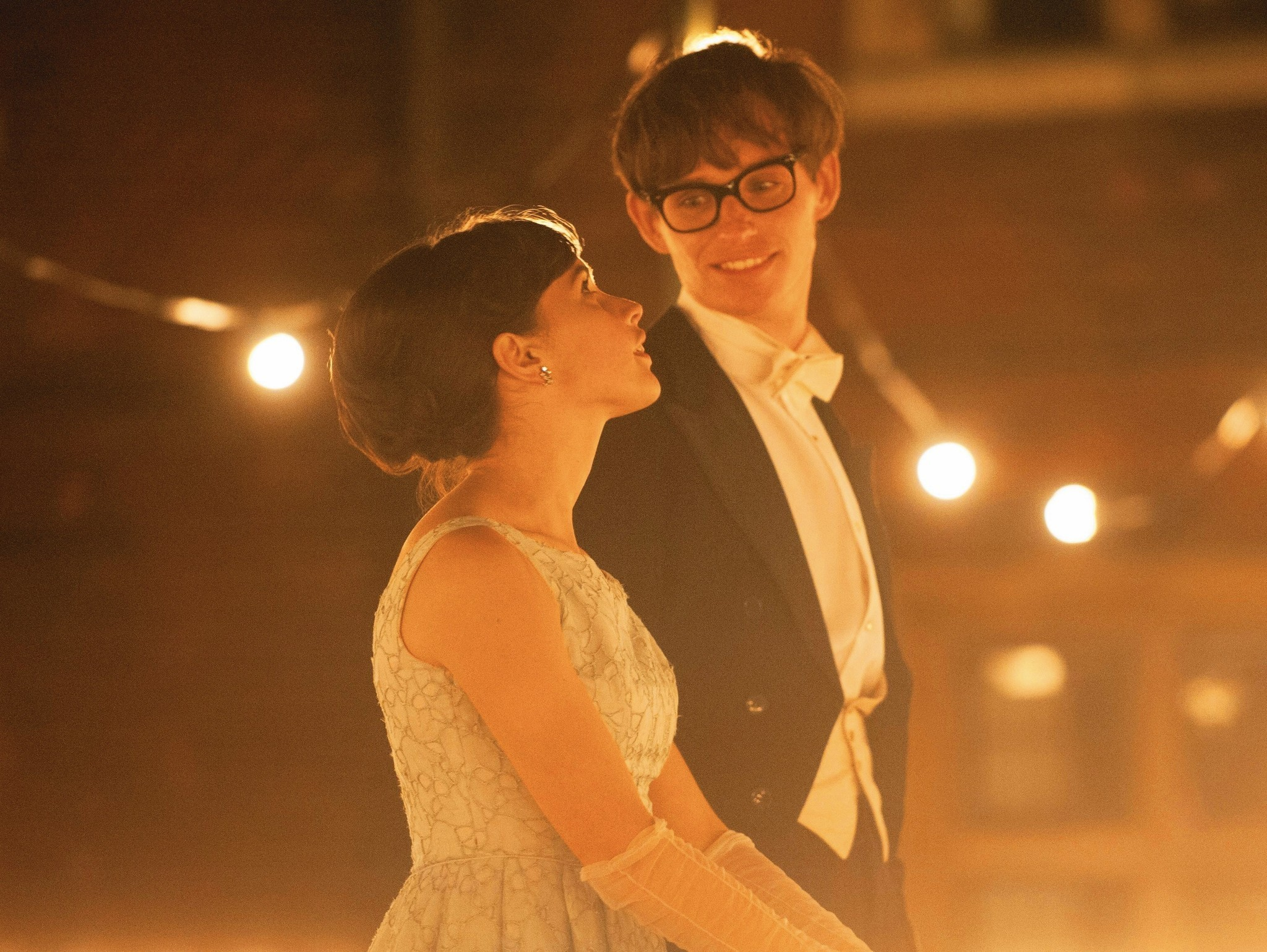 Scene from 'The Theory of Everything.'