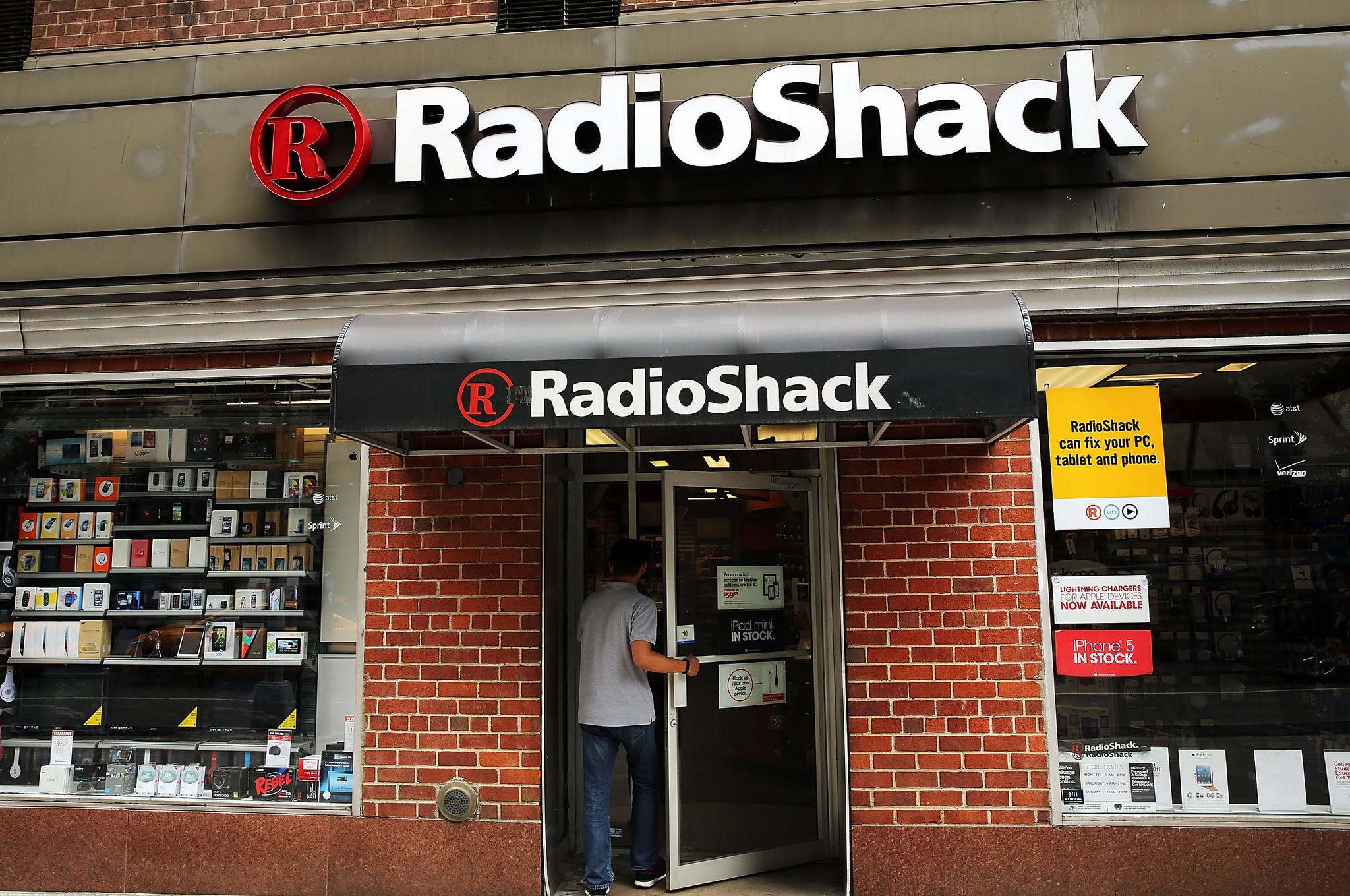 A New York City Radio Shack store in 2013.