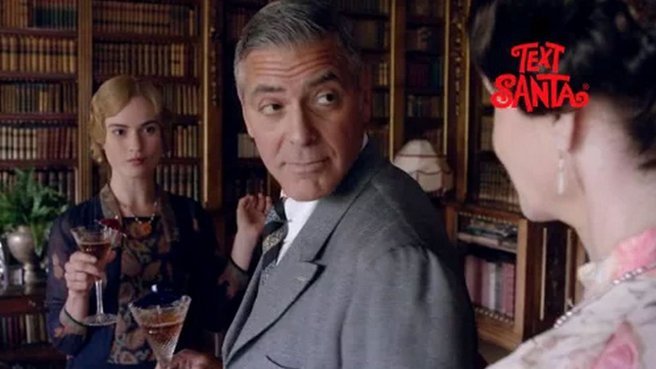 George watch clooneys full downton abbey appearance