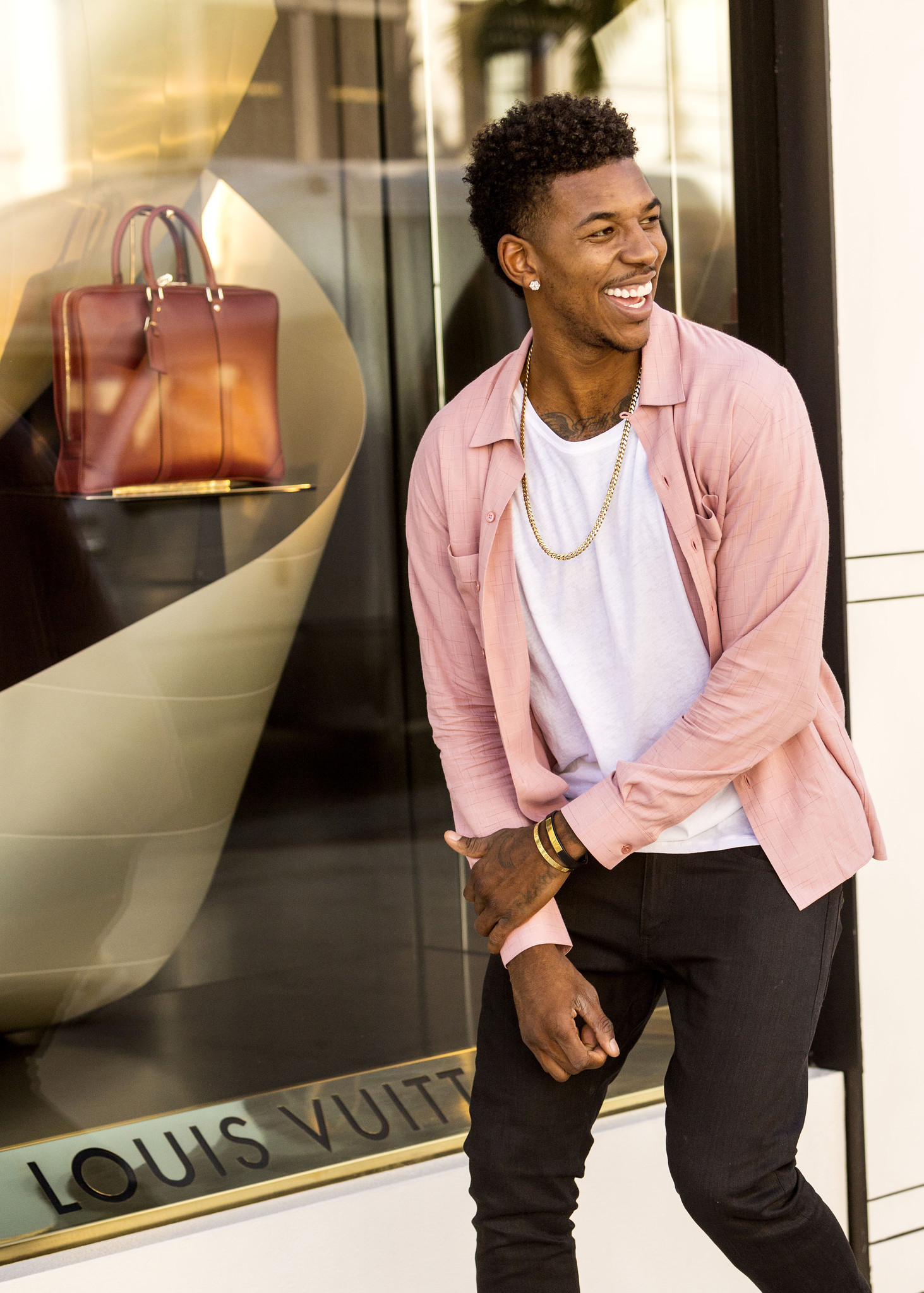 Los Angeles Lakers' Nick Young on Rodeo Drive