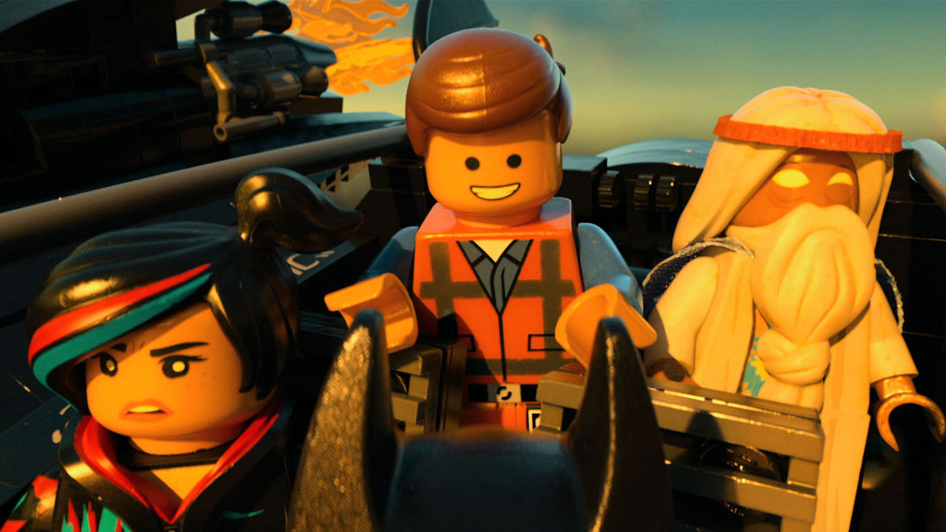 Scene from 'The Lego Movie.'