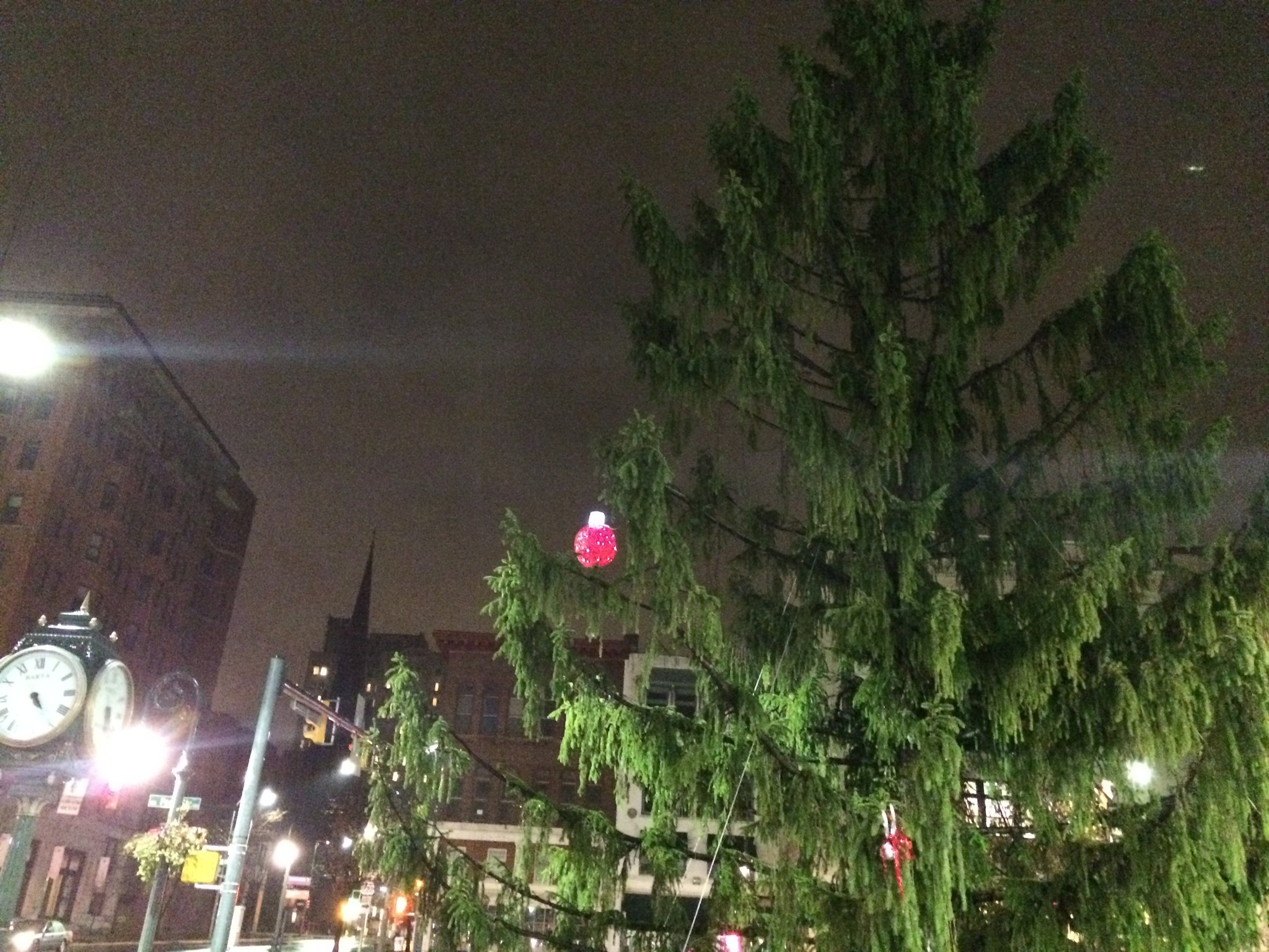 Ugly Christmas Tree.City Of Reading Embraces Ugly Christmas Tree The Morning Call