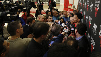 acd2b6529fa7 Derrick Rose on T-shirt statement   My biggest concern is the kids