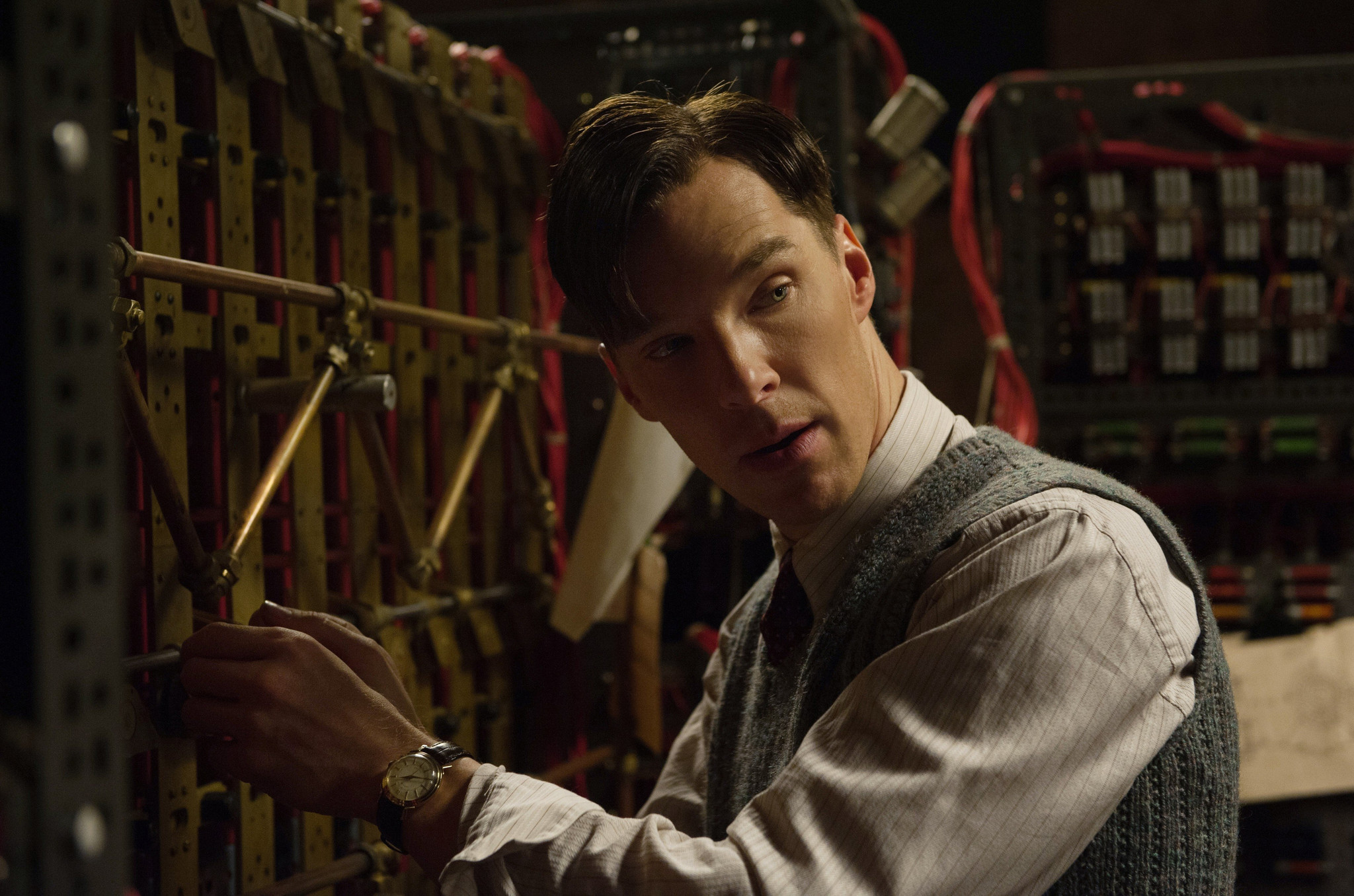 Scene from 'The Imitation Game.'