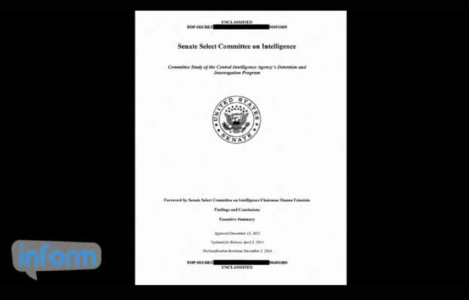 The issue of the use of torture by the cia in the early 2000s