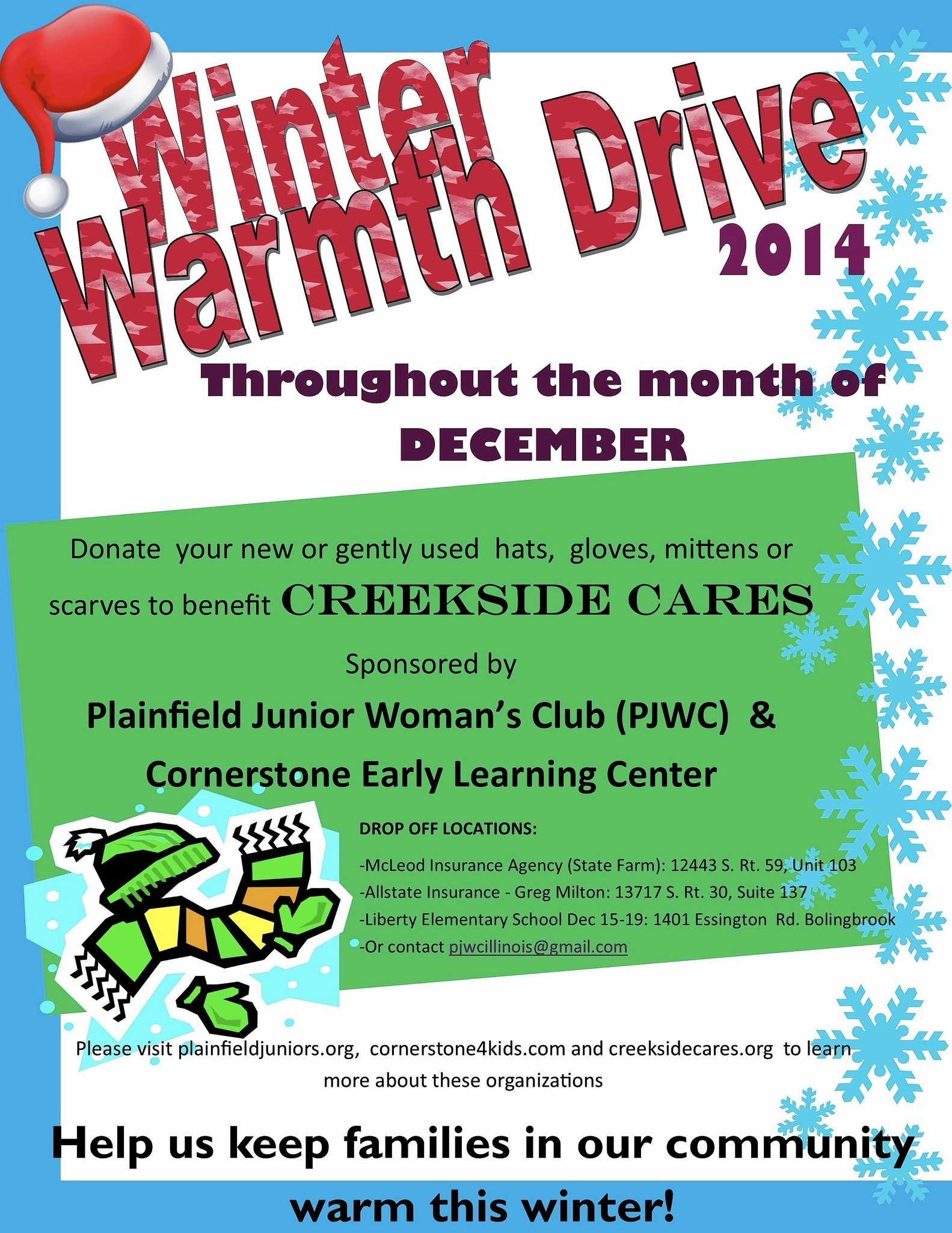 'Winter Warmth' clothing drive to benefit families in ...