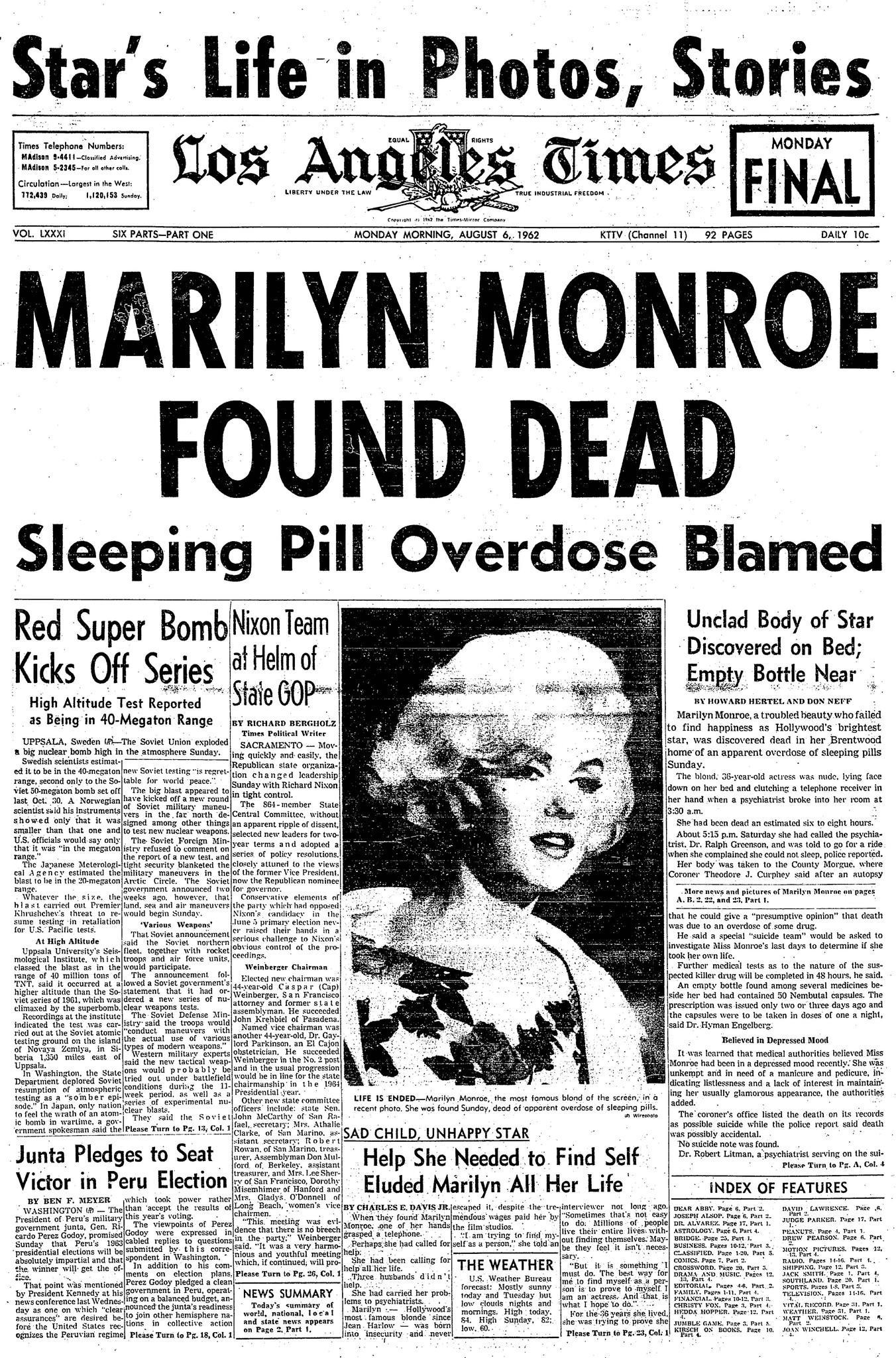 Marilyn Monroe Tot