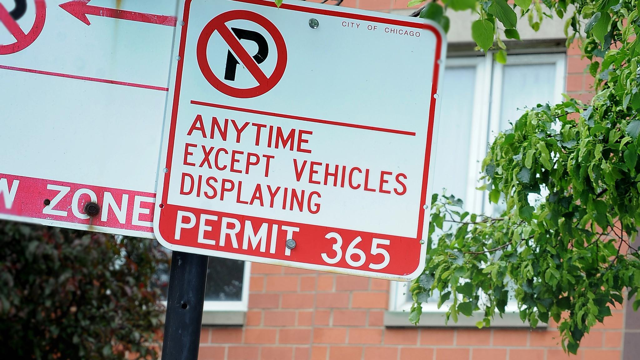 Permit Parking Chicago Map.Smartchicago City Produce Restricted Zones Map Chicago Tribune