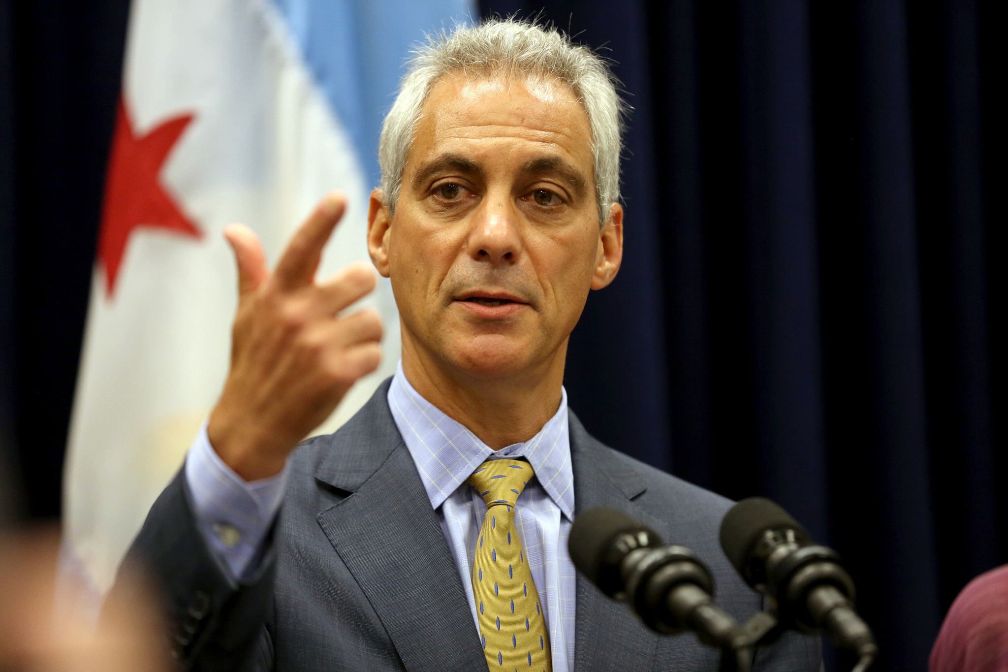 Rahm Emanuel defends record on ethics in first term