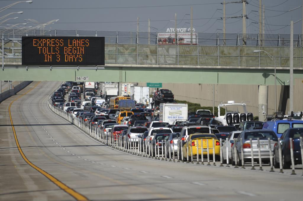 Hybrid Cars Free P On I 95 Express Lanes In South Florida To End Sun Sentinel
