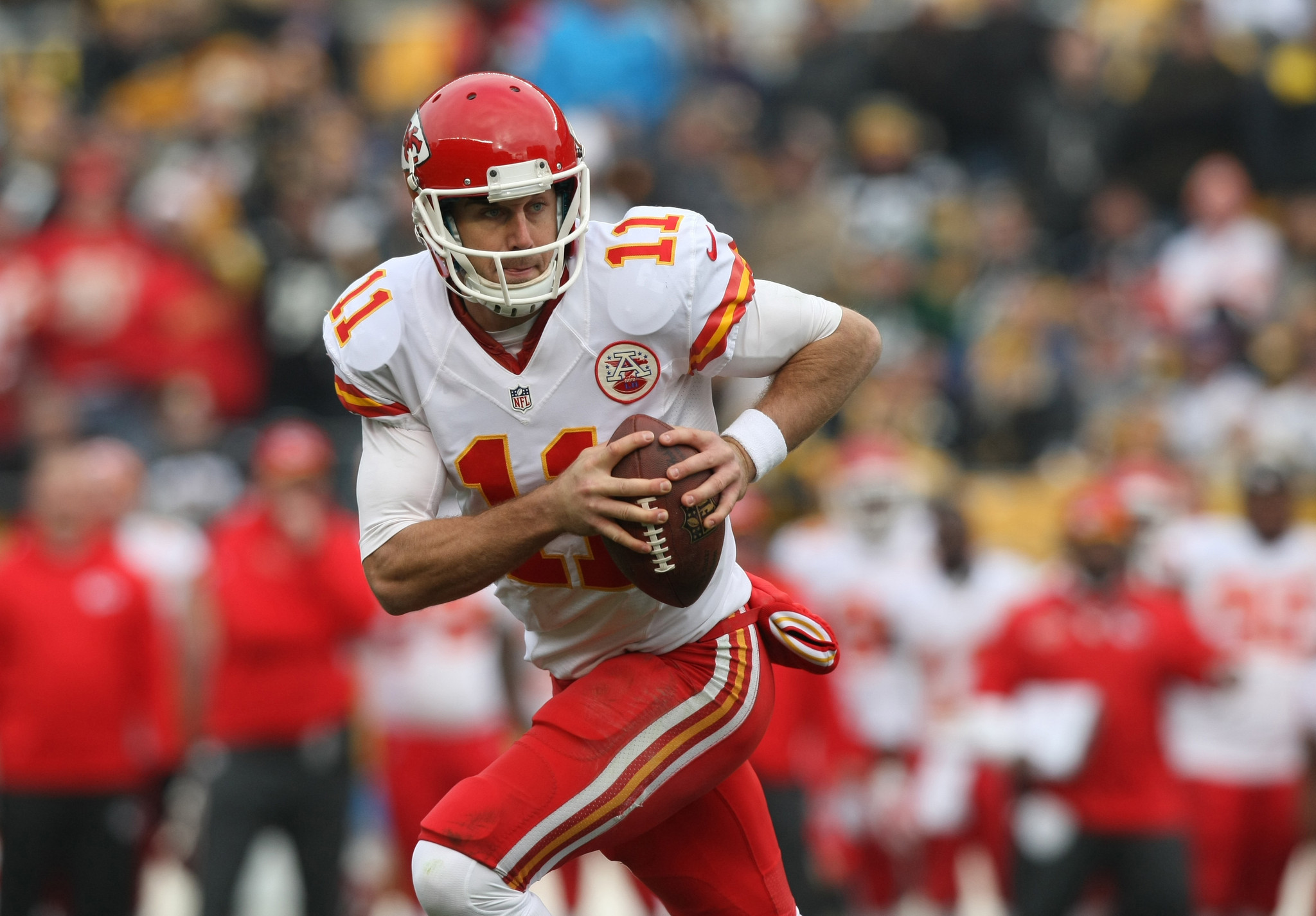 Chiefs Qb Alex Smith Out With Lacerated Spleen Chicago