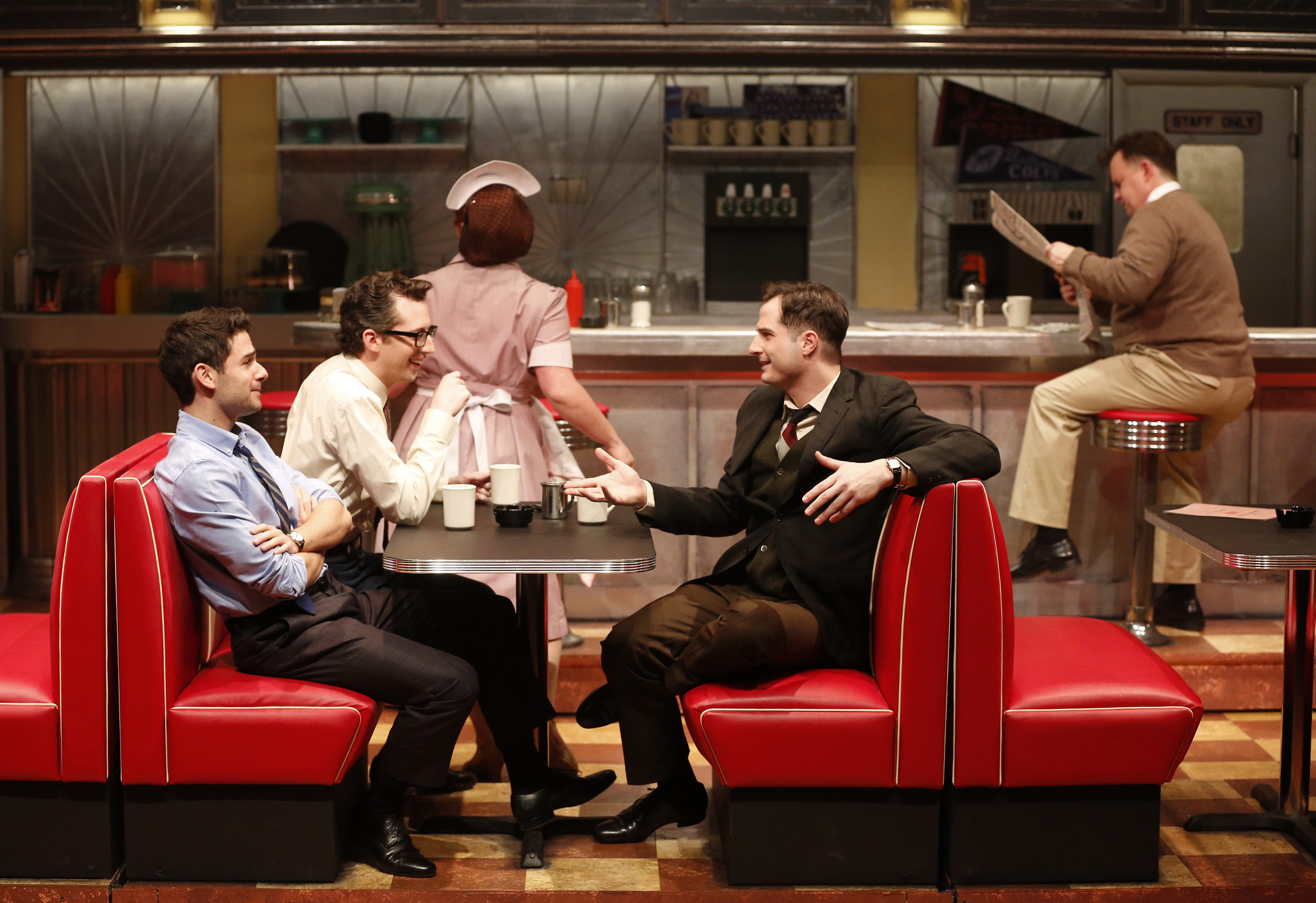 musical diner sells out entire run at signature theatre