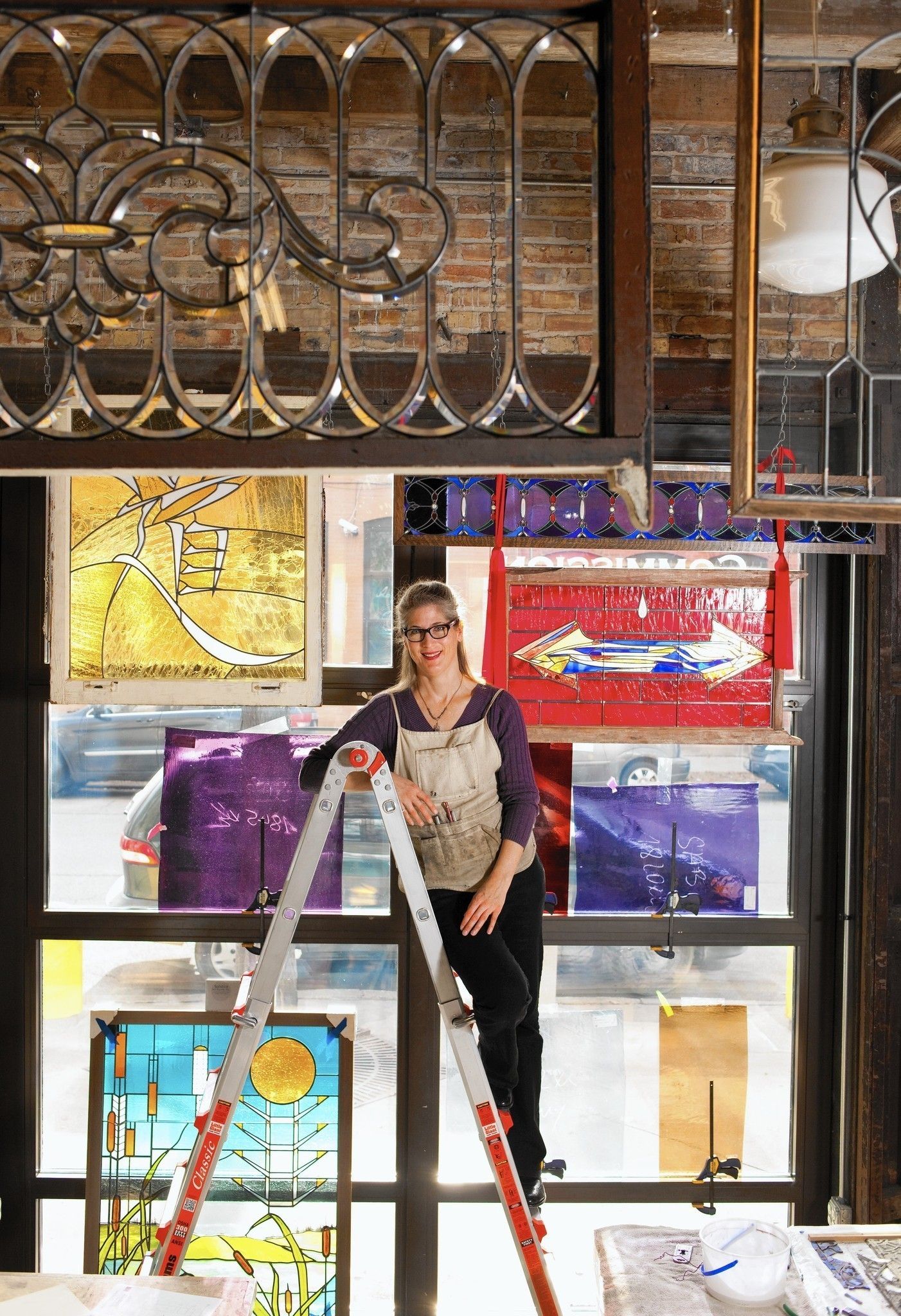 Stained Glass Opened The Window To Emily Carlsons Artistic