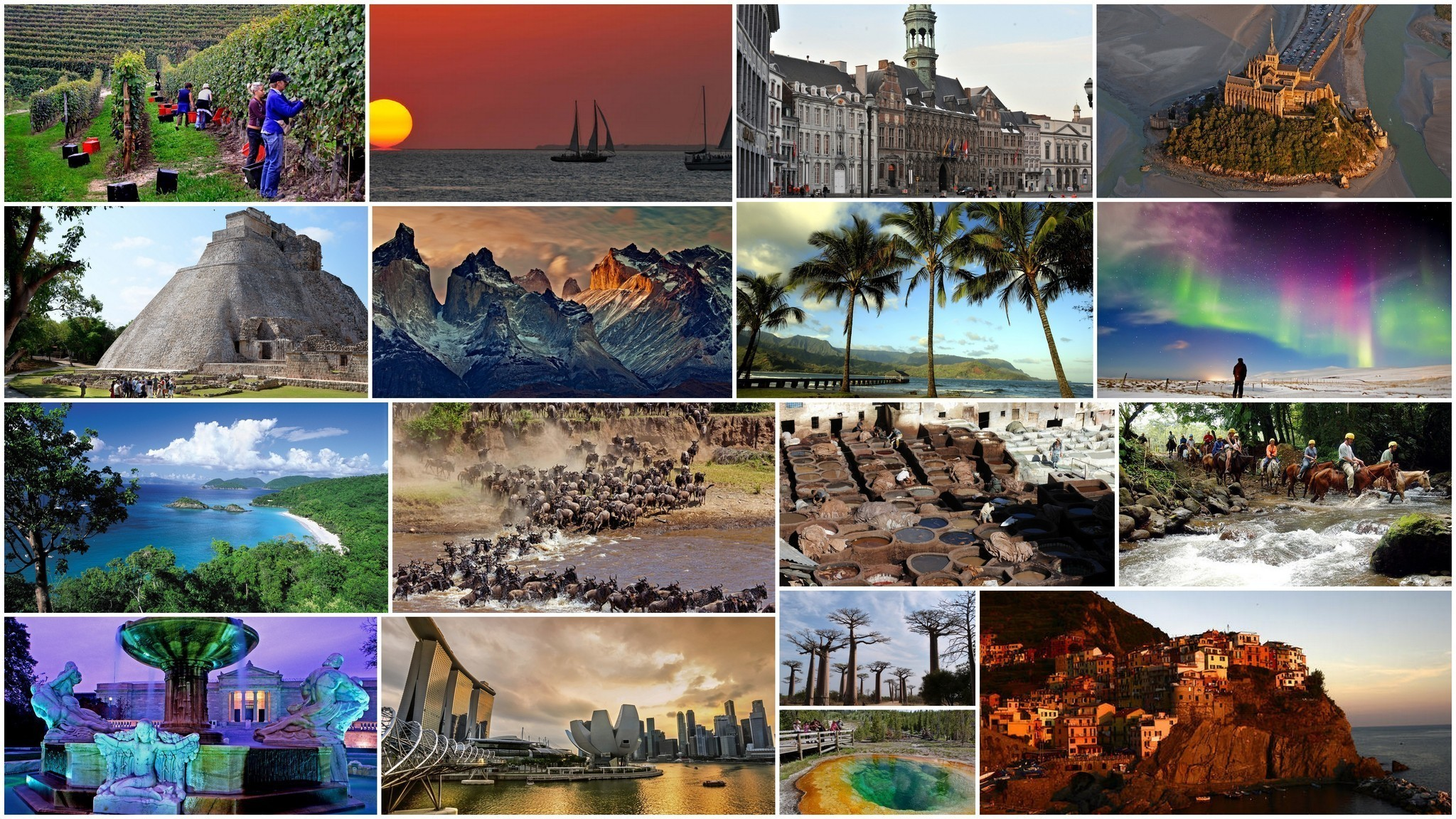 Beautyful Places Destination: 41 Travel Destinations For 2015