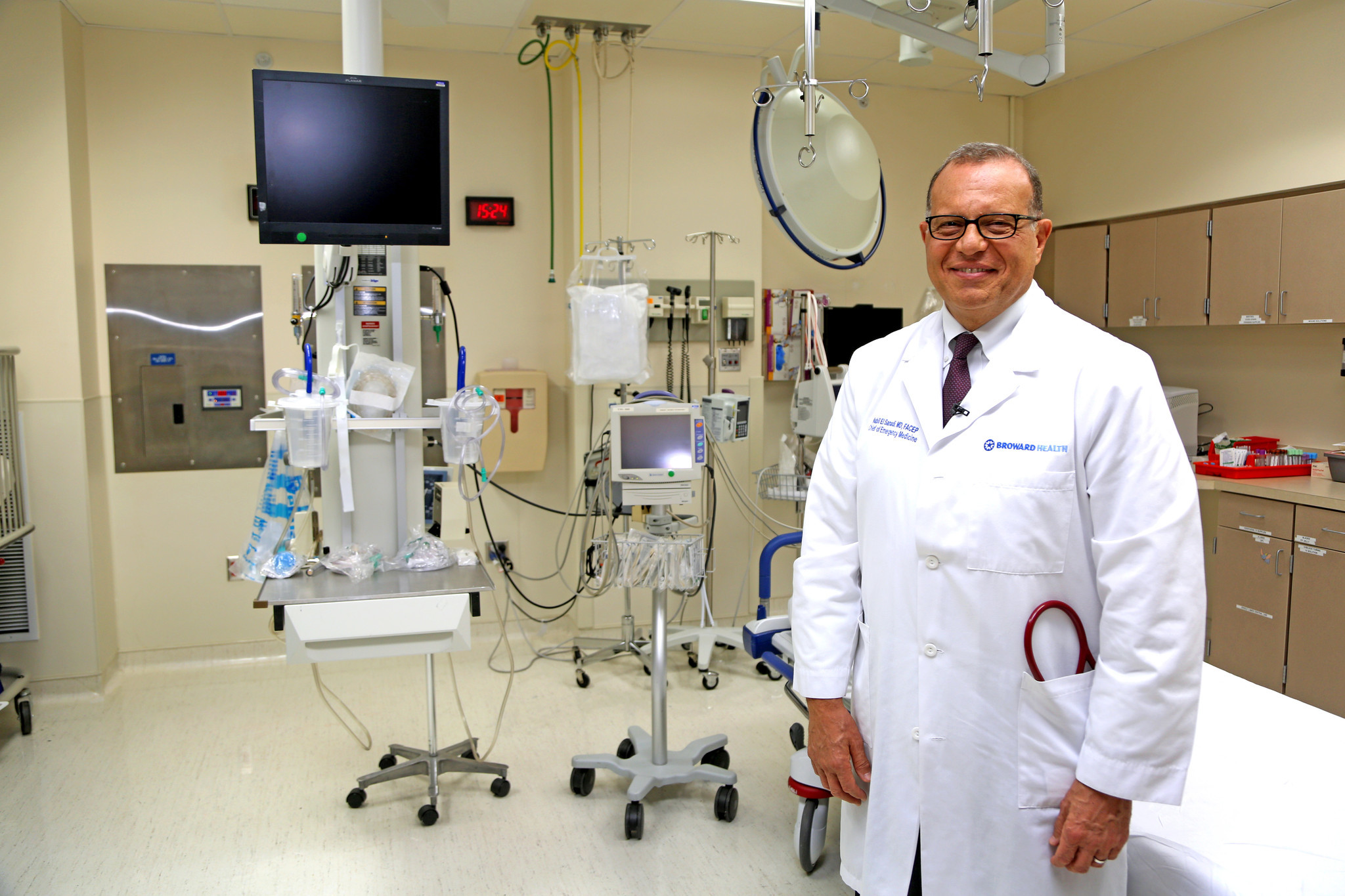 Broward Health Ceo Nabil El Sanadi Will Continue To Treat Patients