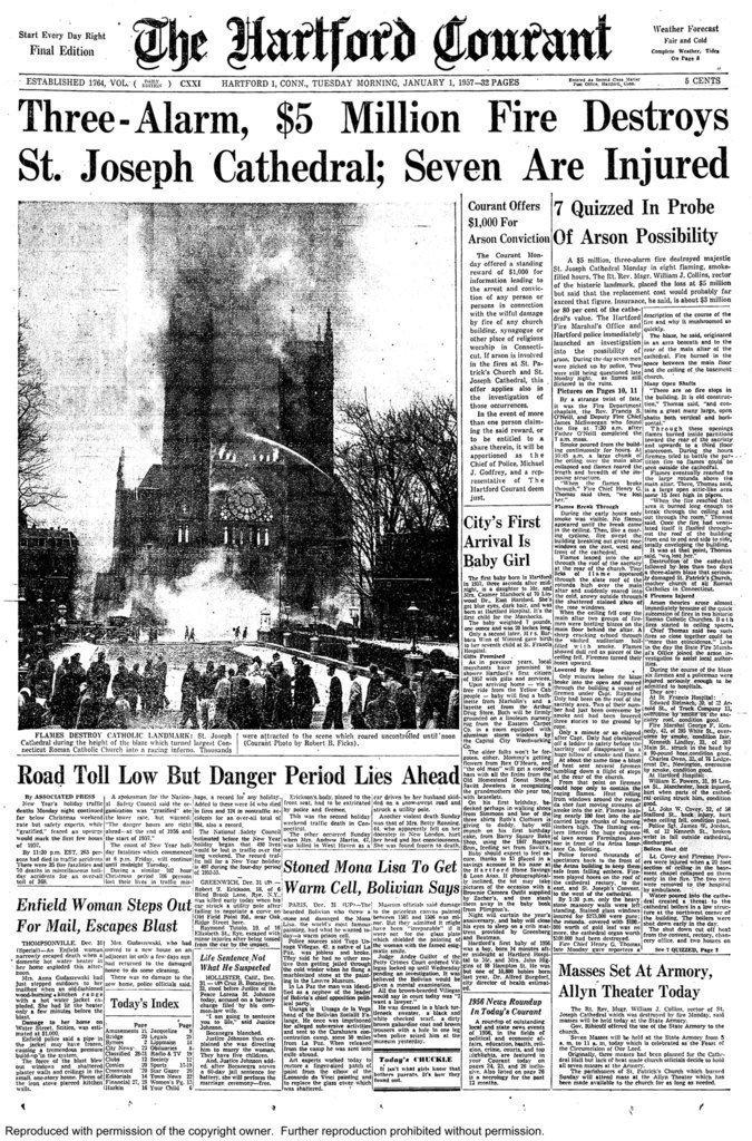 El Hartford Courant cumple 250 años - Hartford Courant
