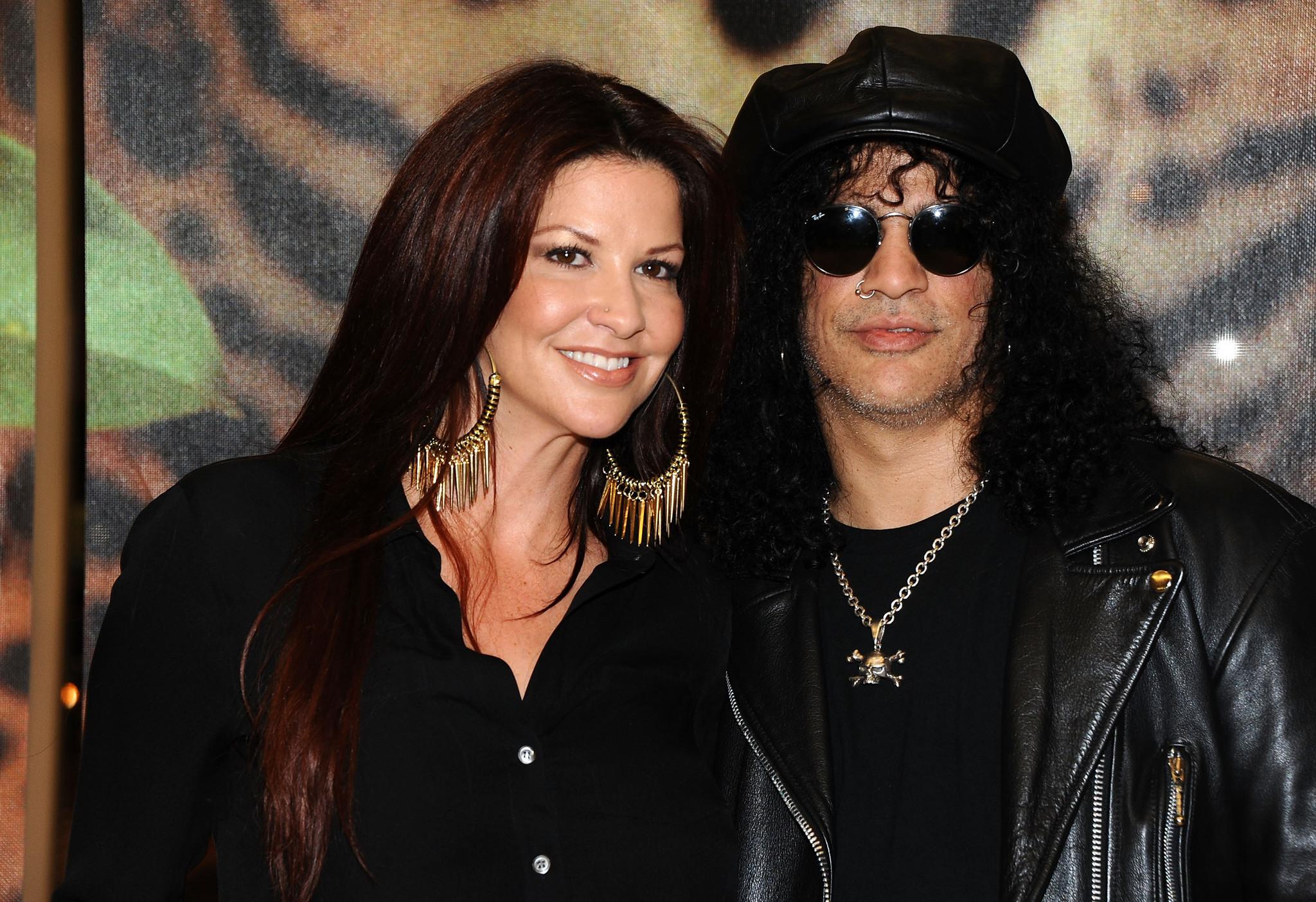 Rocker Slash again files for divorce from wife Perla - LA ...