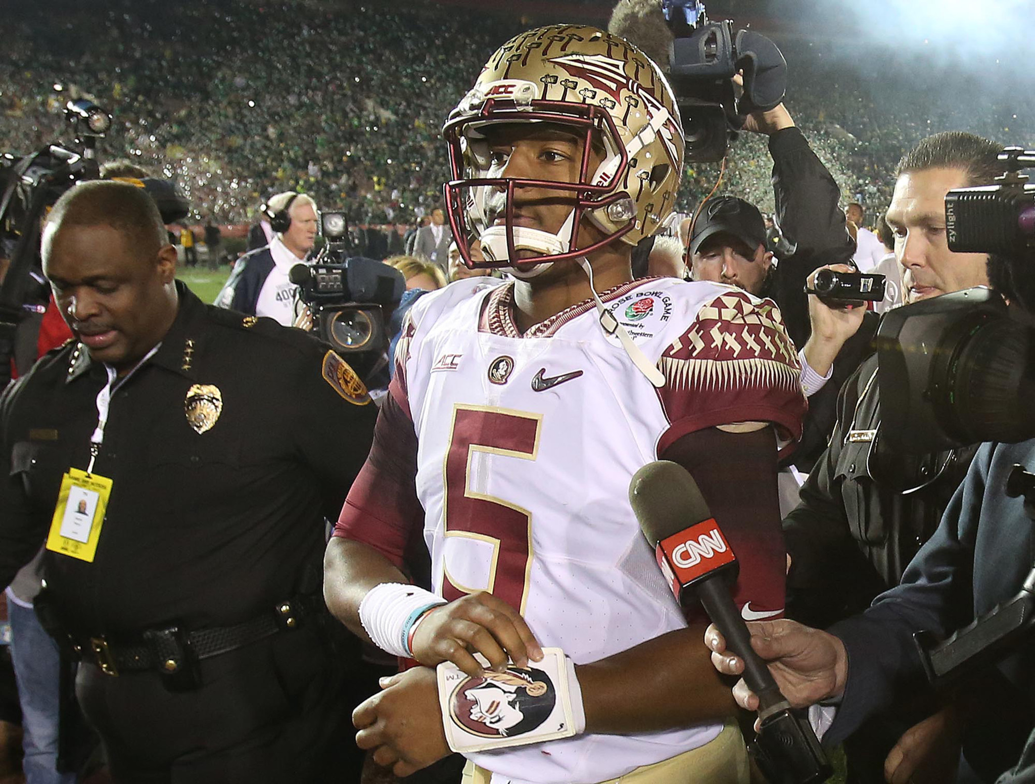 Jameis Winston leaving FSU for the NFL