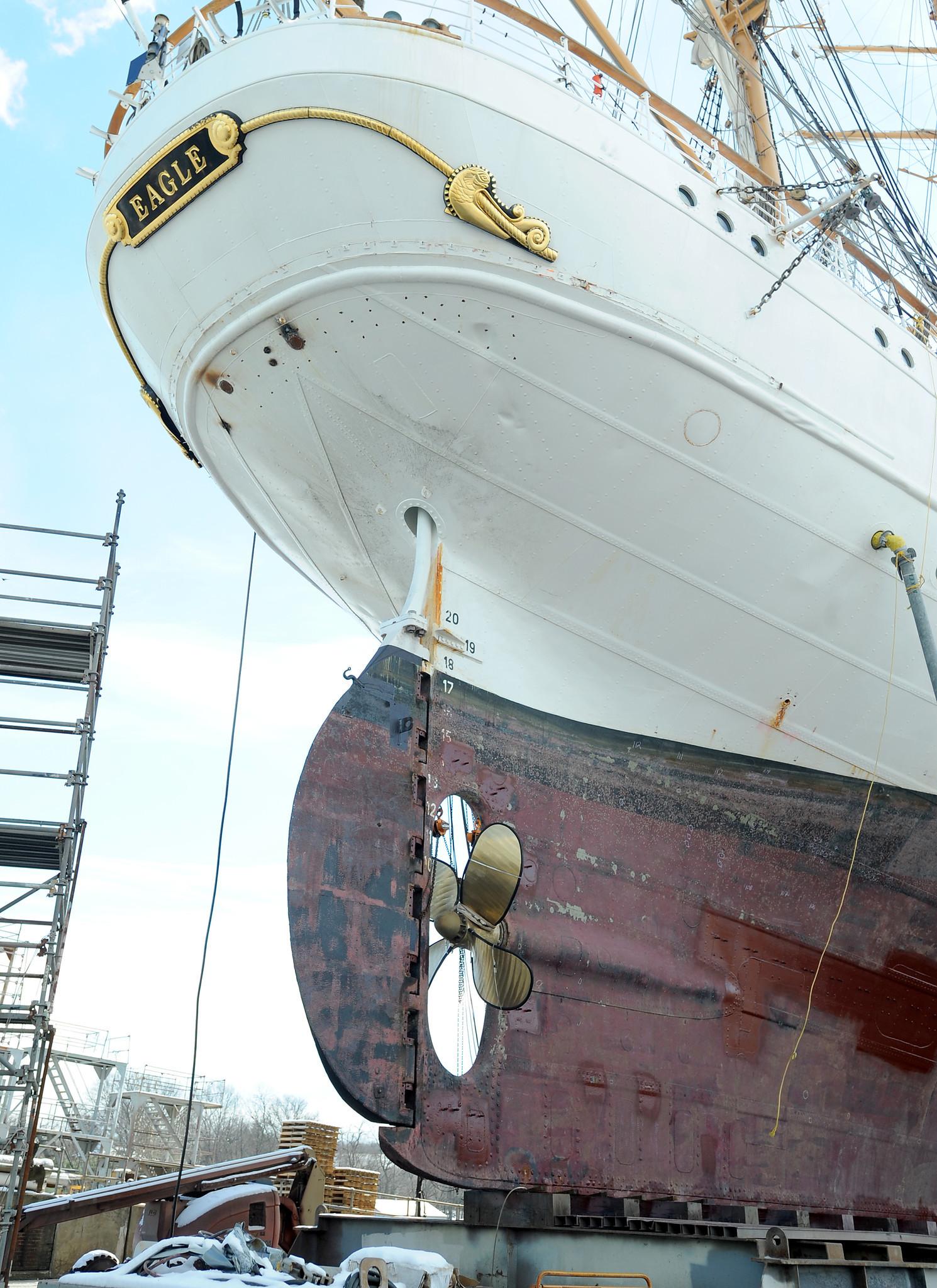 USCGC Eagle Repair Upd...