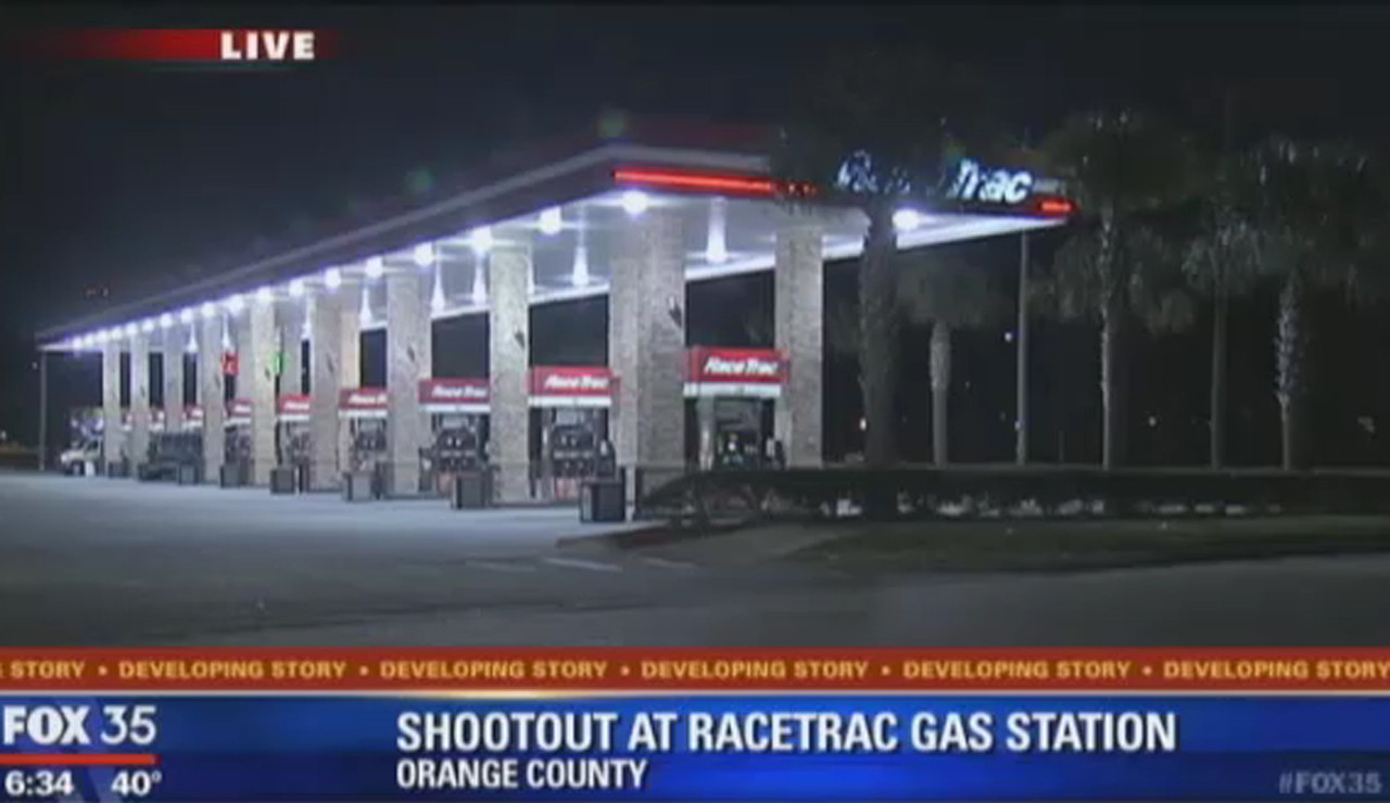 Shootout at RaceTrac gas station - Orlando Sentinel