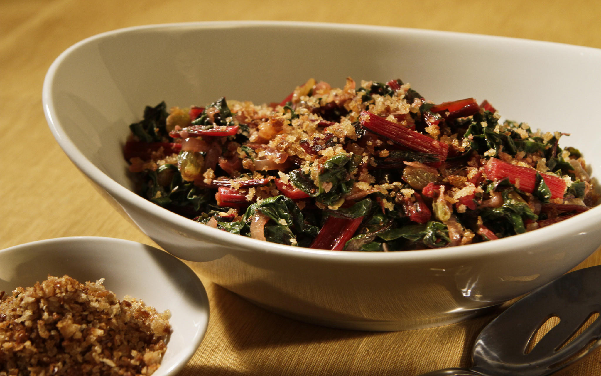 Long-simmered greens
