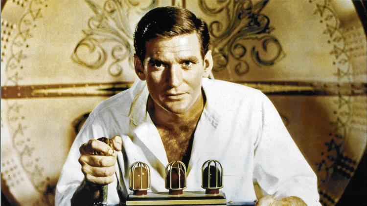 """Rod Taylor in """"The Time Machine"""""""