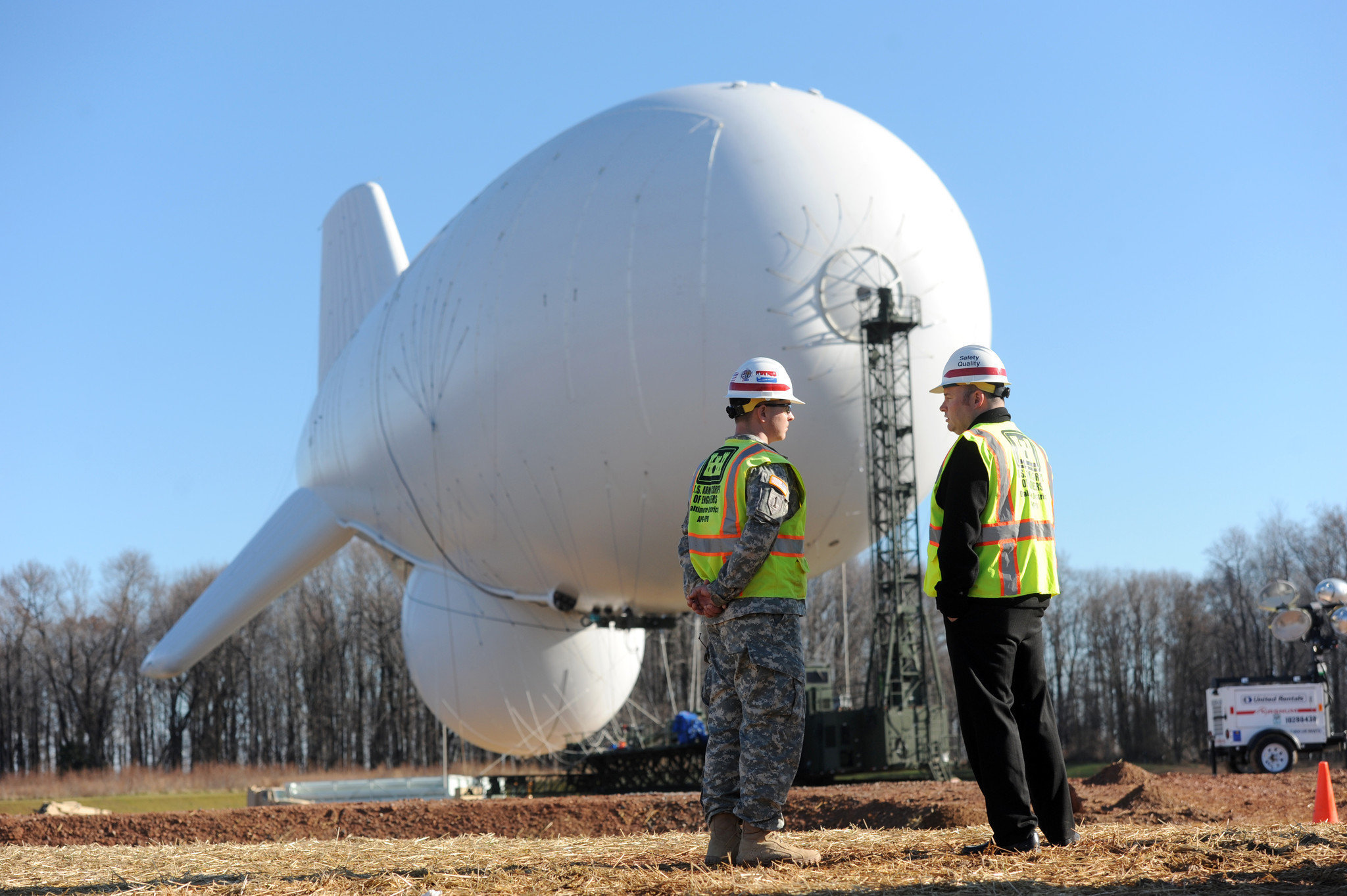 Blimp A Reminder Of Aberdeen Proving Ground Editorial