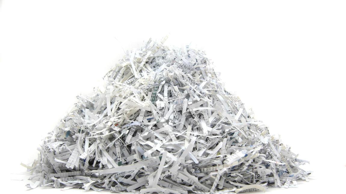 Free document shredding staples