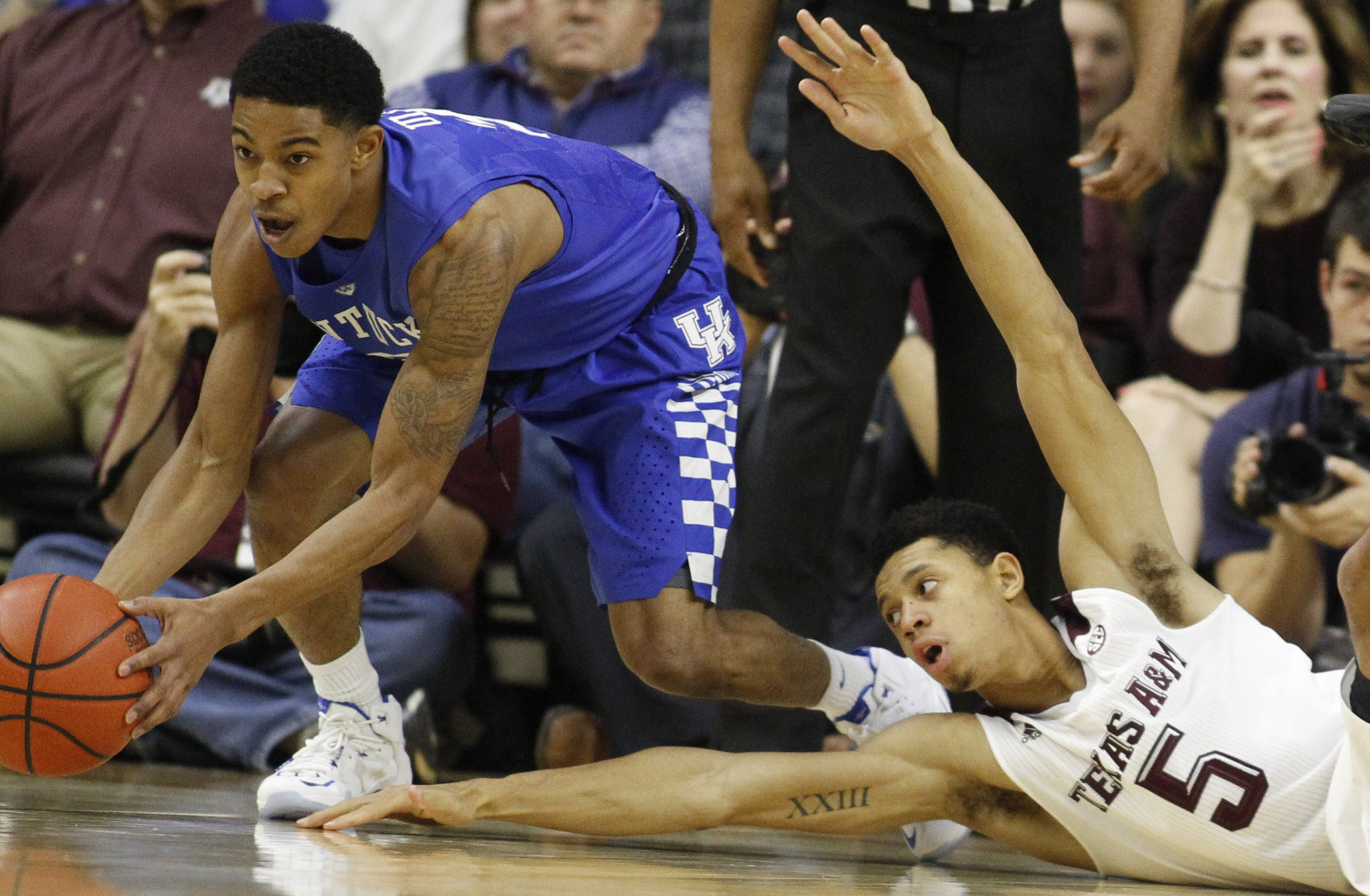 Kentucky Basketball Ranking The Top Five Wildcats Players: Kentucky Still No. 1 In AP Top 25 -- But Not Unanimously