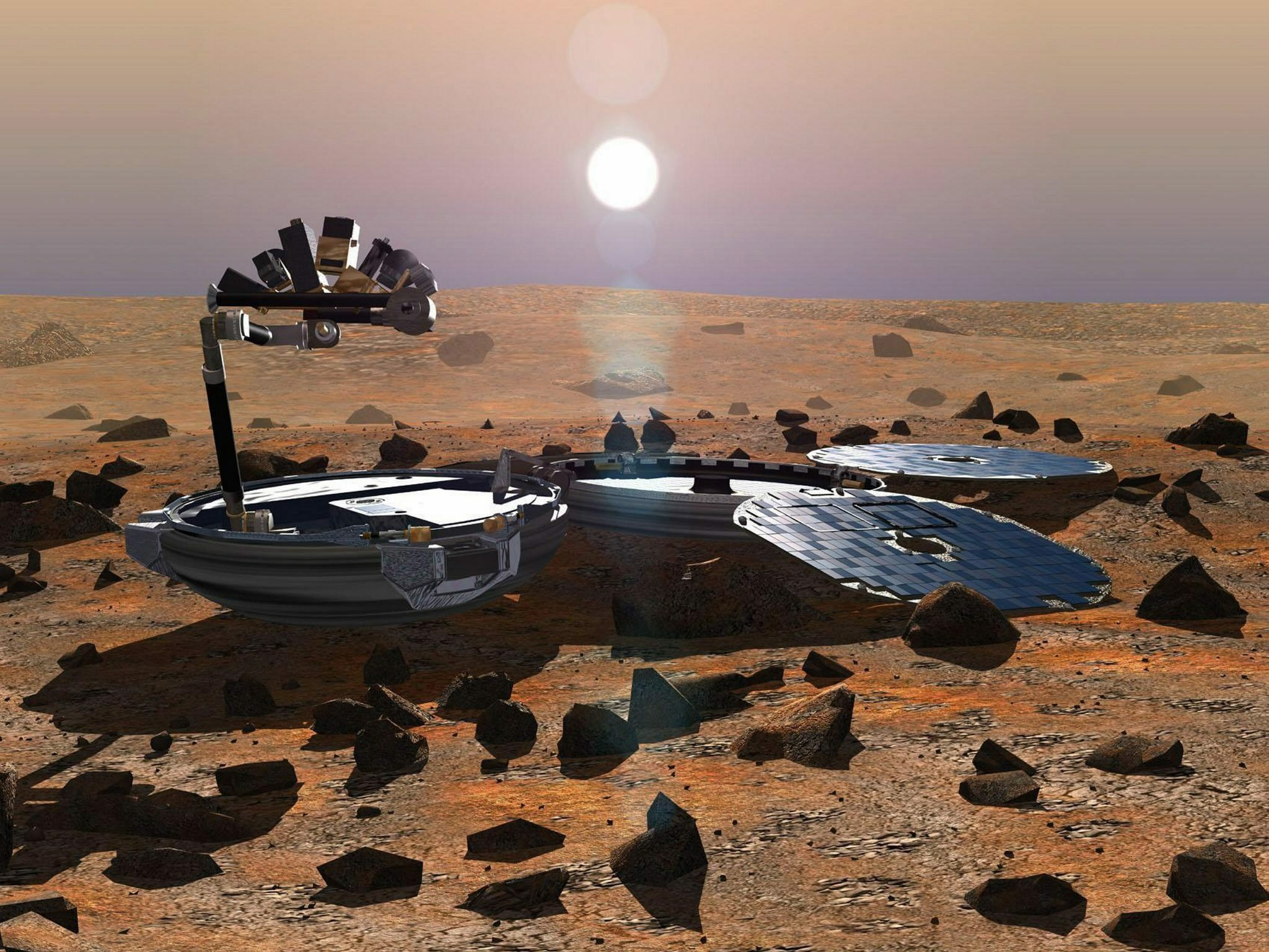 Beagle lander thought lost since 2003 is found on Mars ...