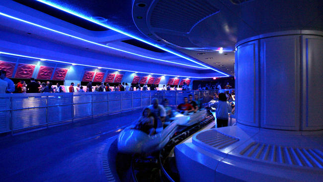 Image result for space mountain disney world florida