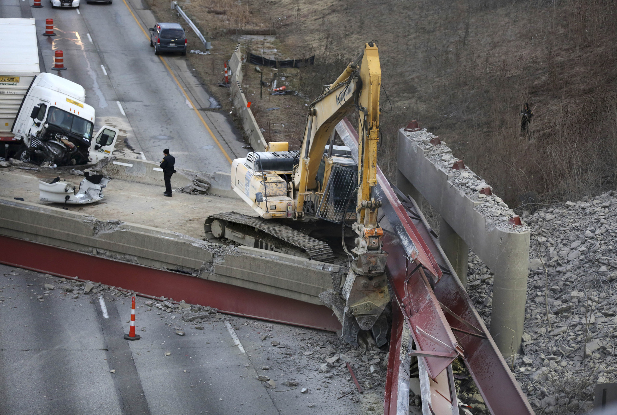 Worker Killed In Ohio Interstate Collapse Identified