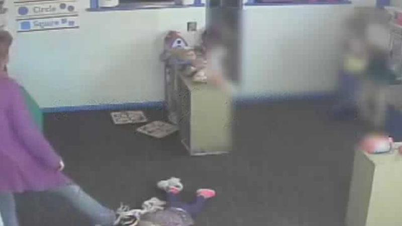 Video shows Florida daycare worker kicking child - Orlando