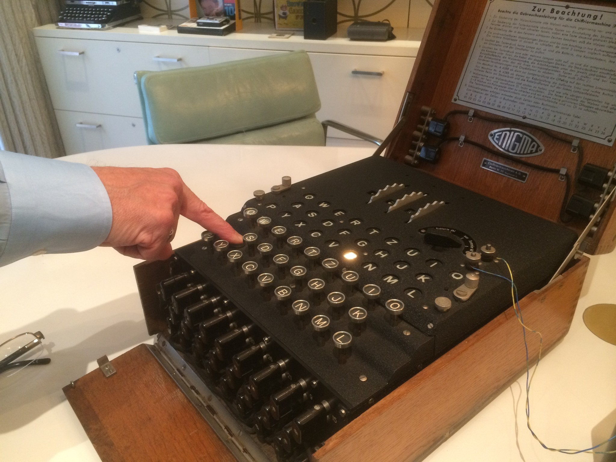 ENIGMA Technology and the History of Computers
