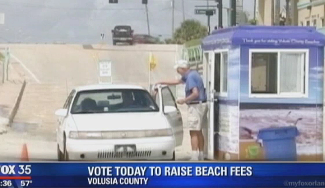 Council Roves Hike In Fees To Drive On Daytona Beach Orlando Sentinel