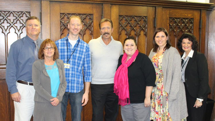 Joliet Township High School Drama Students Partner with Actor Walt Willey for Wild Bill In-School Mentorship Program