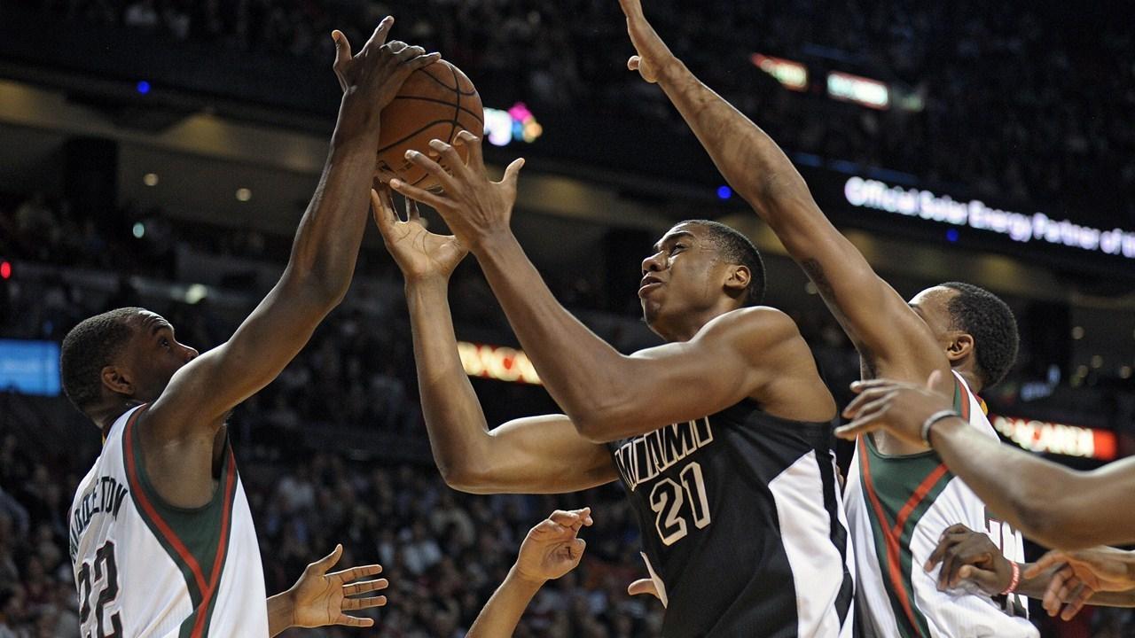 NBA Saison reguliere 2014/2015 : Milwaukee Bucks vs Miami ...